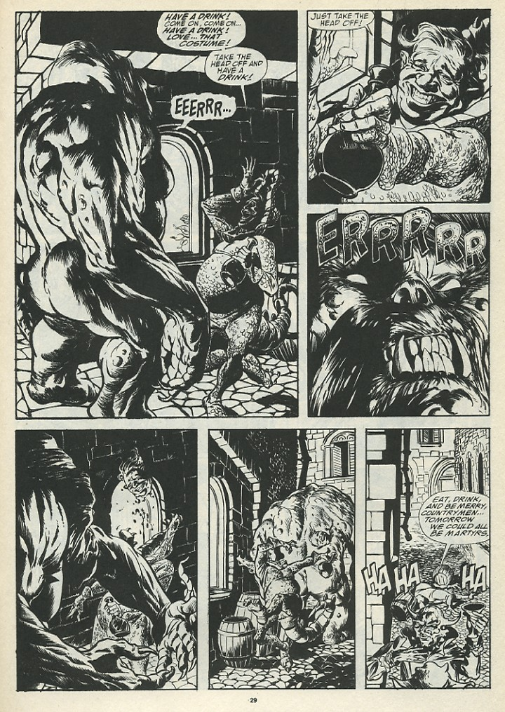 The Savage Sword Of Conan Issue #185 #186 - English 31