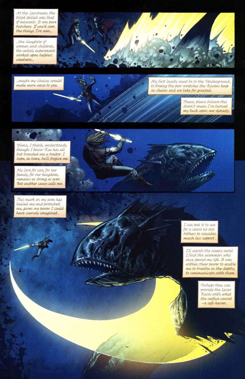 Read online Scion comic -  Issue #20 - 16