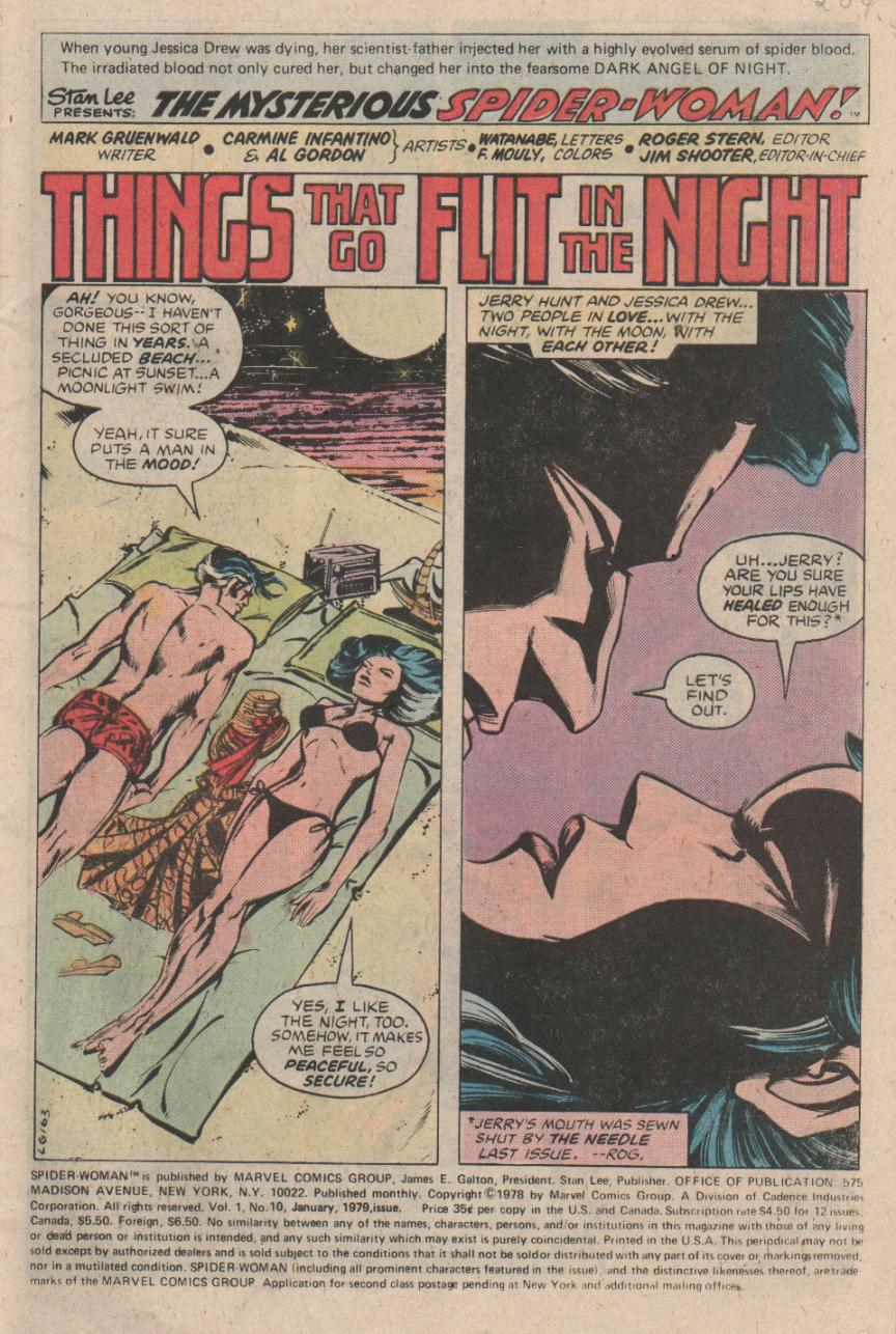 Spider-Woman (1978) Issue #10 #10 - English 2