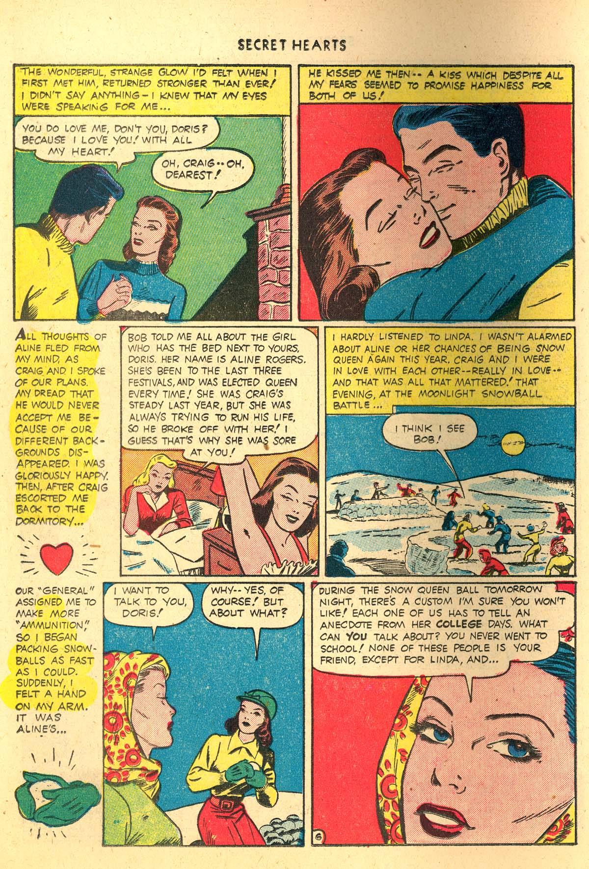 Read online Secret Hearts comic -  Issue #4 - 26