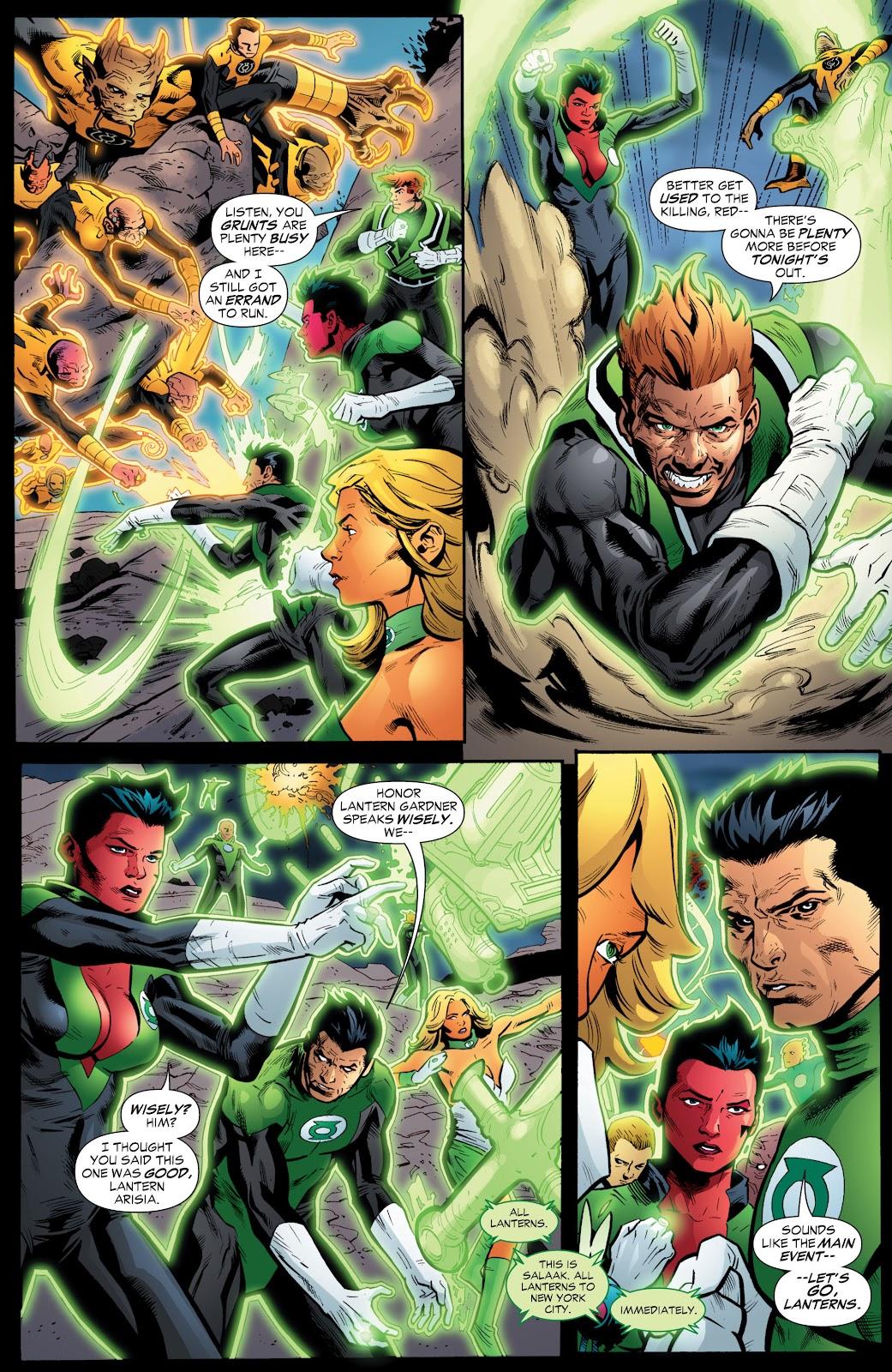 Green Lantern: The Sinestro Corps War Full #1 - English 209