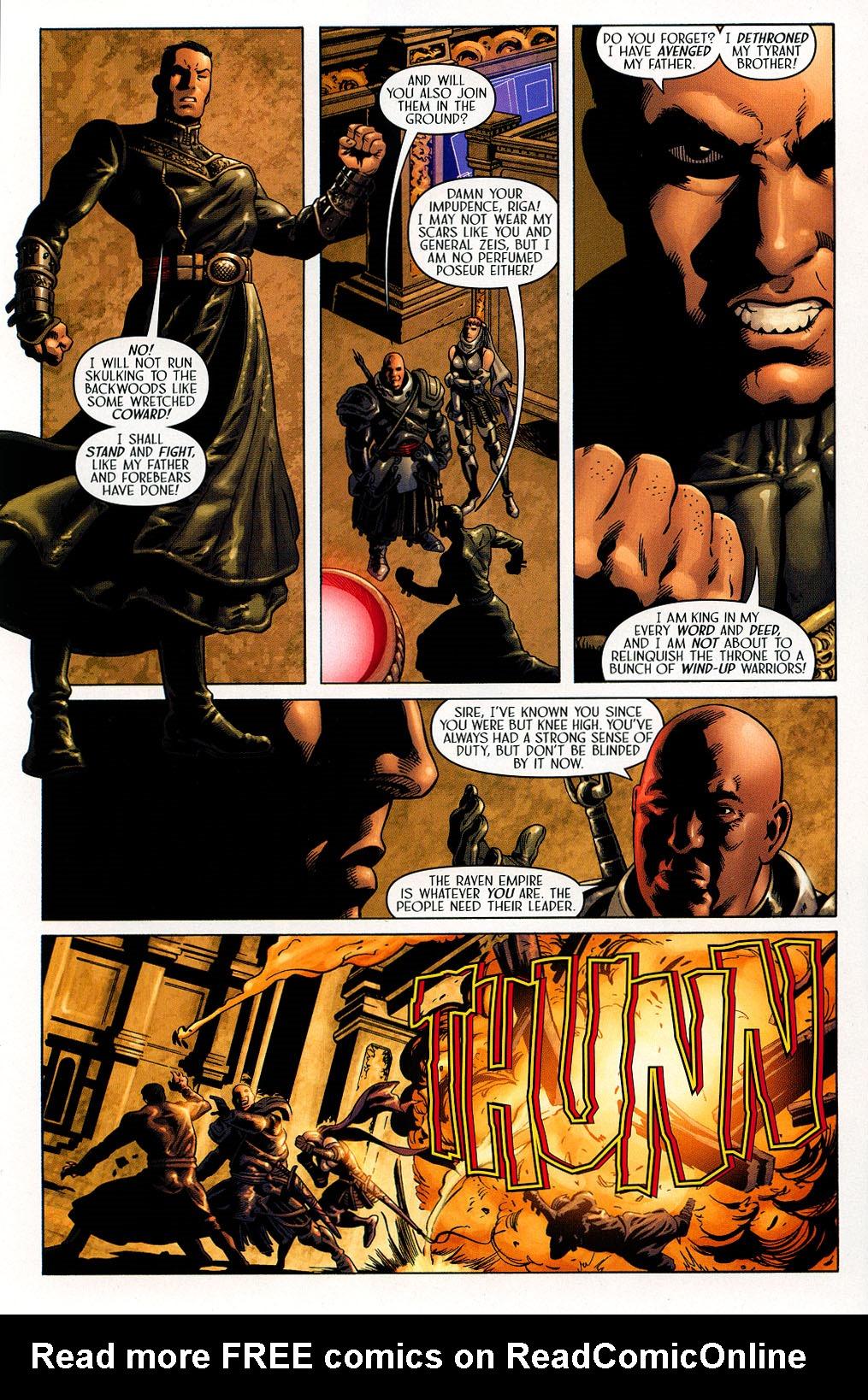 Read online Scion comic -  Issue #41 - 15