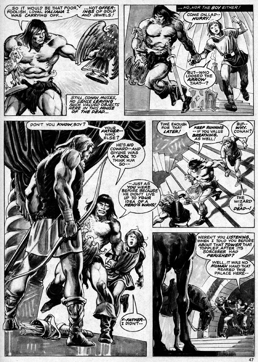 The Savage Sword Of Conan Issue #69 #70 - English 47