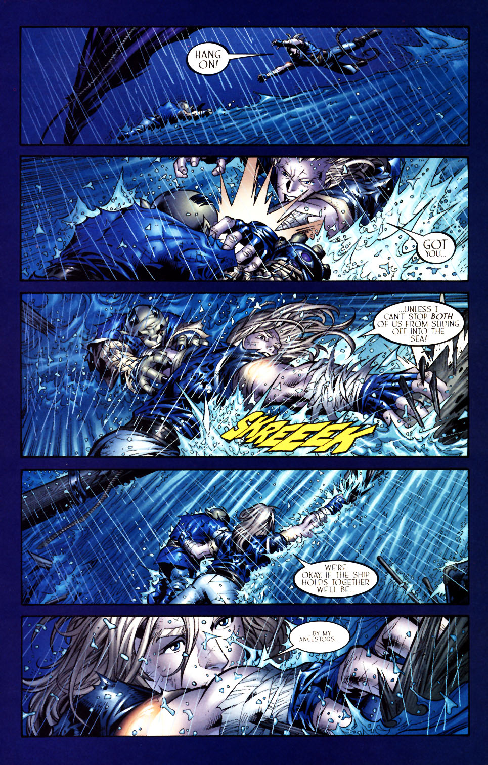 Read online Scion comic -  Issue #5 - 9