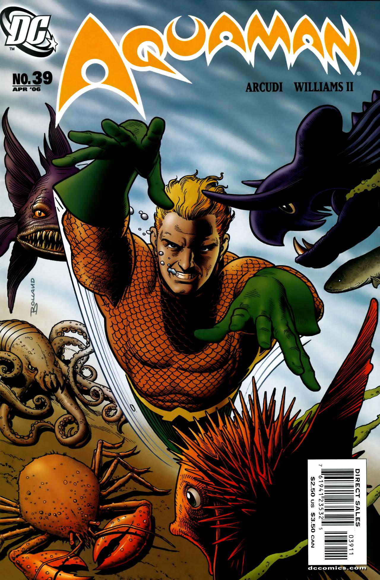 Read online Aquaman (2003) comic -  Issue #39 - 1