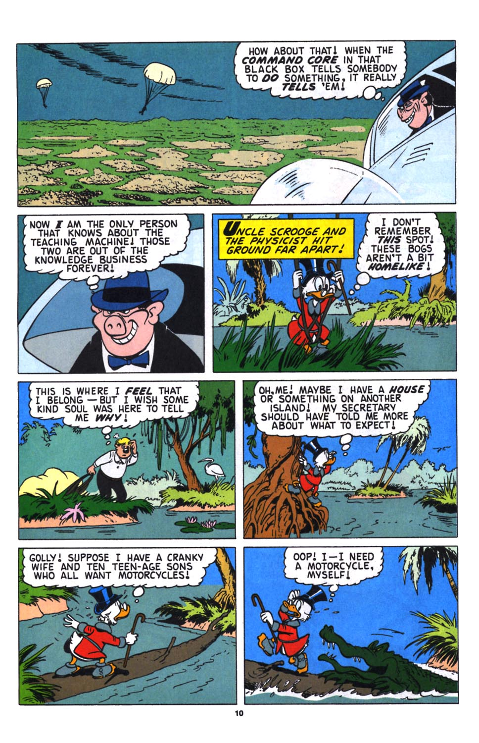 Uncle Scrooge (1953) Issue #258 #258 - English 11