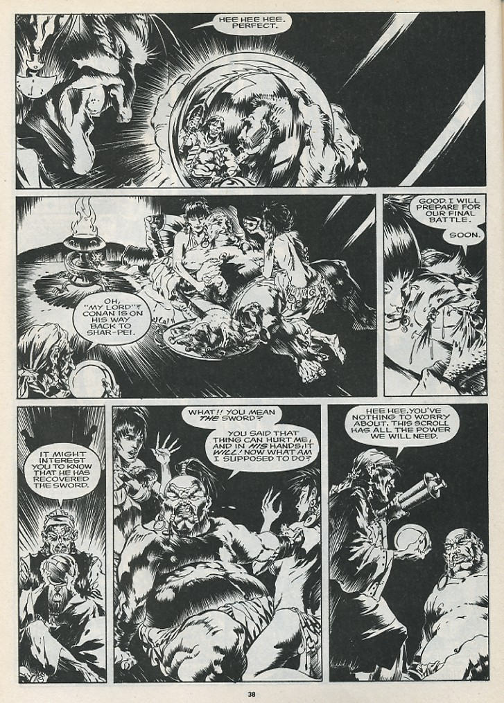 The Savage Sword Of Conan Issue #175 #176 - English 40