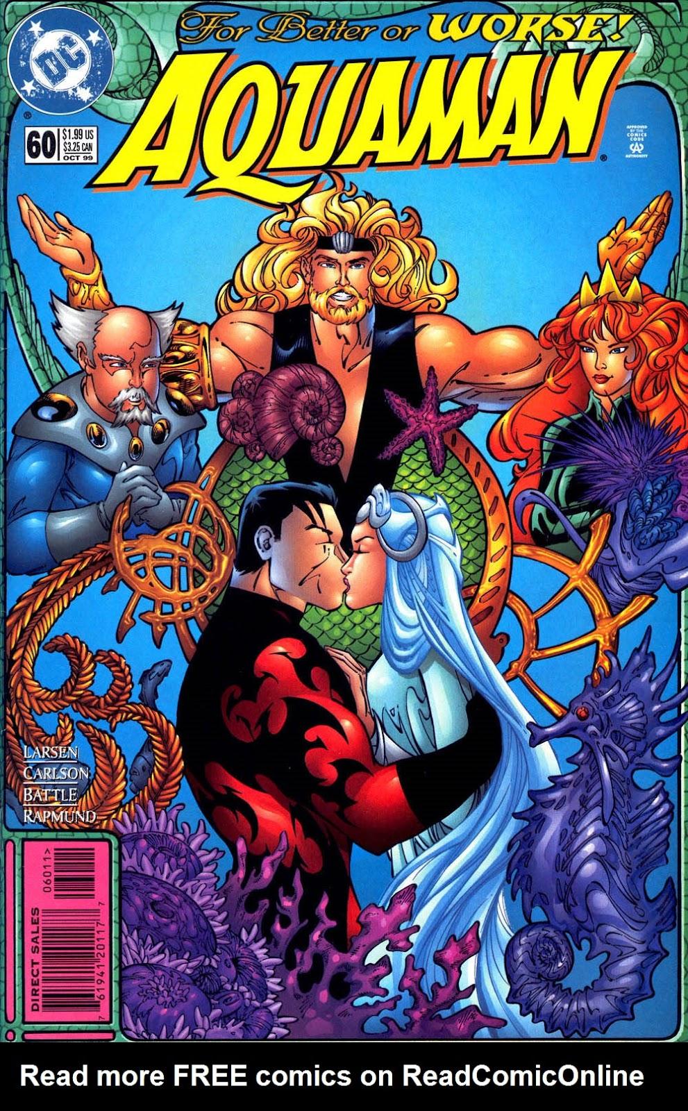 Aquaman (1994) Issue #60 #66 - English 1