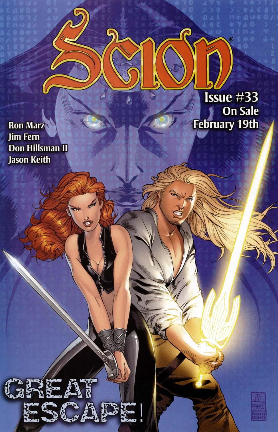 Read online Scion comic -  Issue #32 - 24