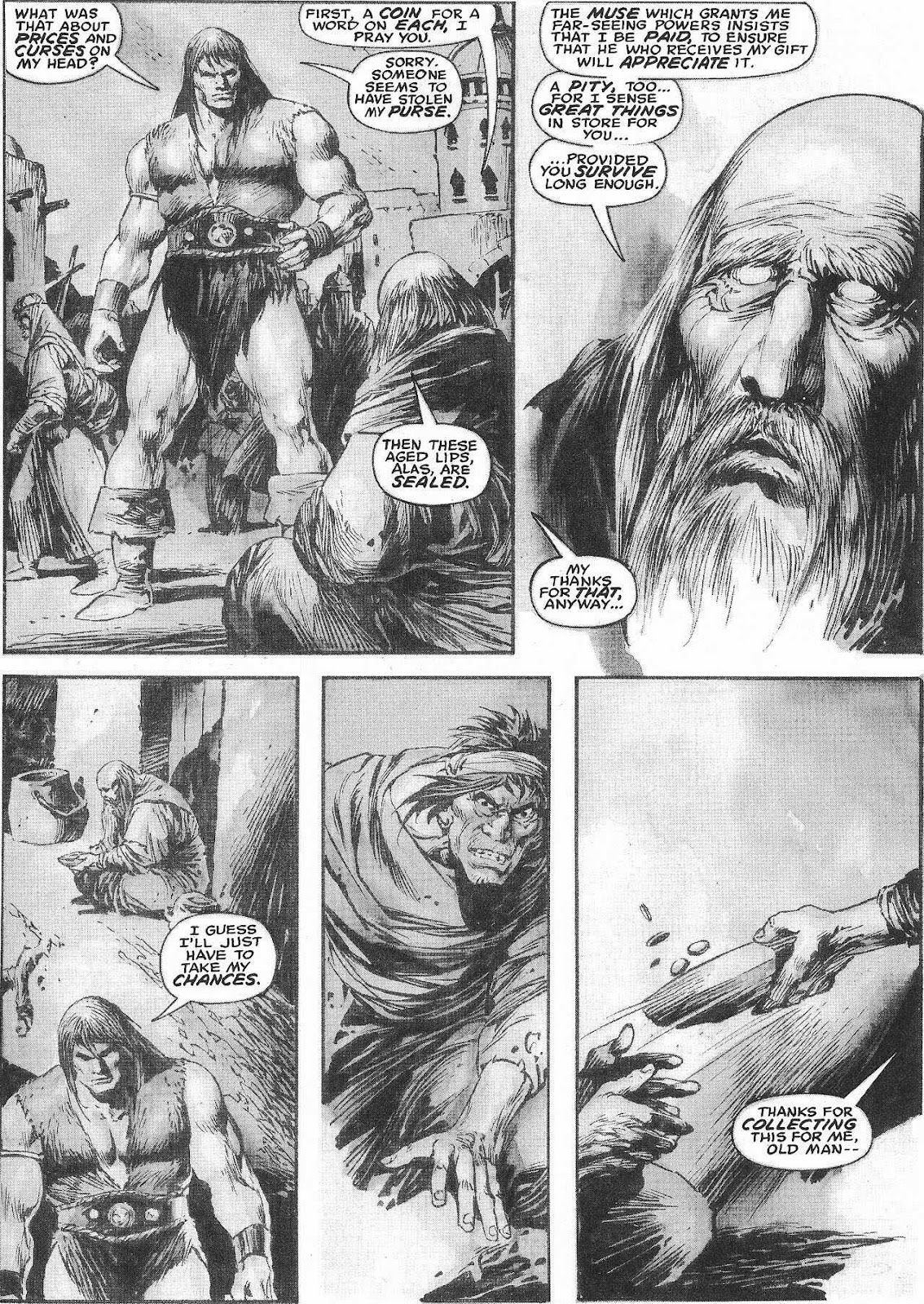 The Savage Sword Of Conan Issue #207 #208 - English 27