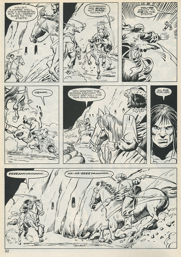 The Savage Sword Of Conan Issue #131 #132 - English 32