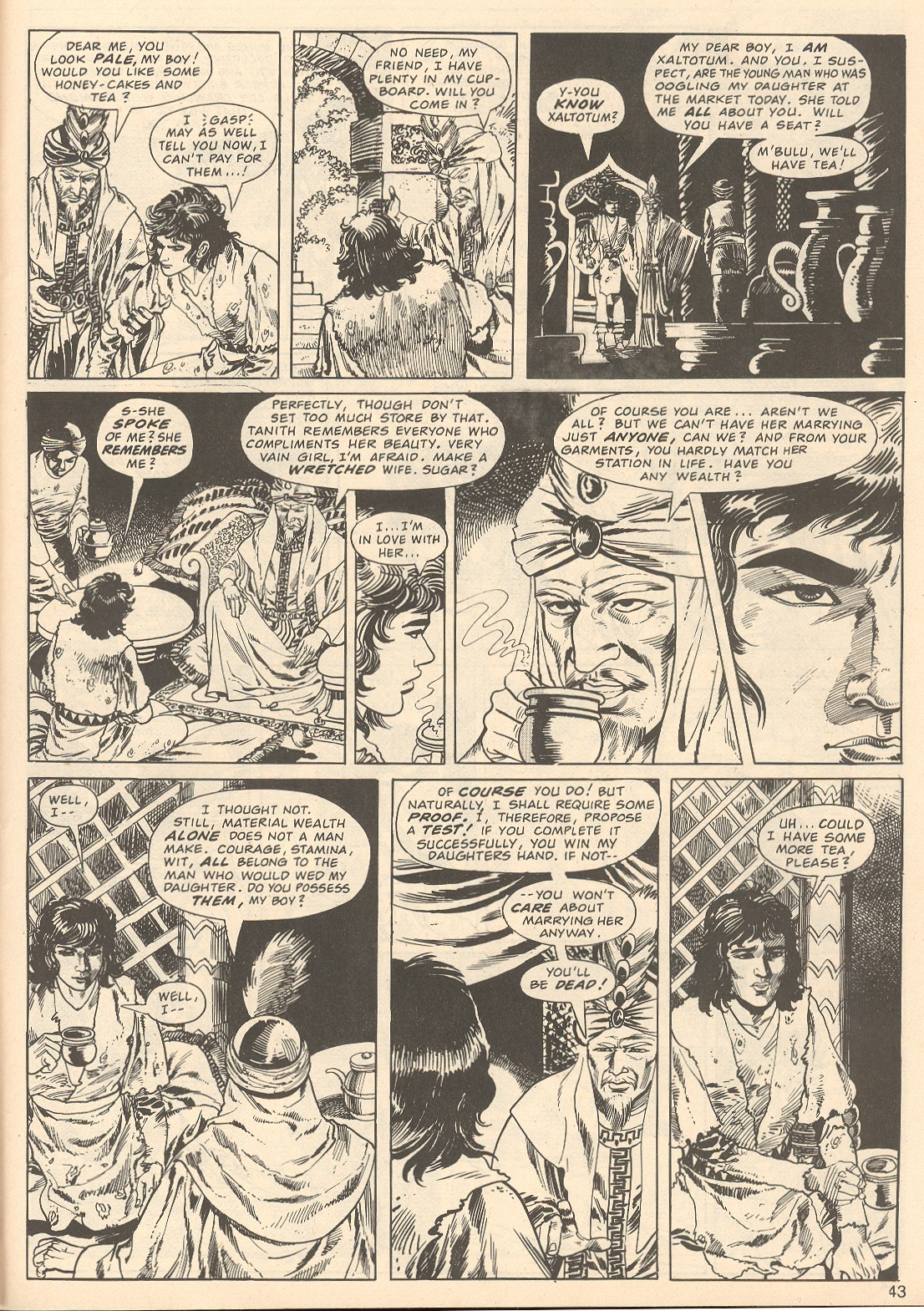 The Savage Sword Of Conan Issue #67 #68 - English 43