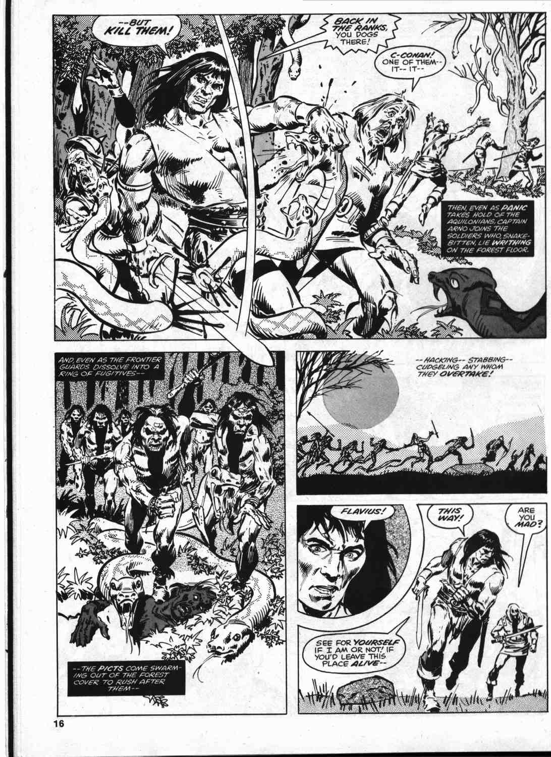 The Savage Sword Of Conan Issue #46 #47 - English 15