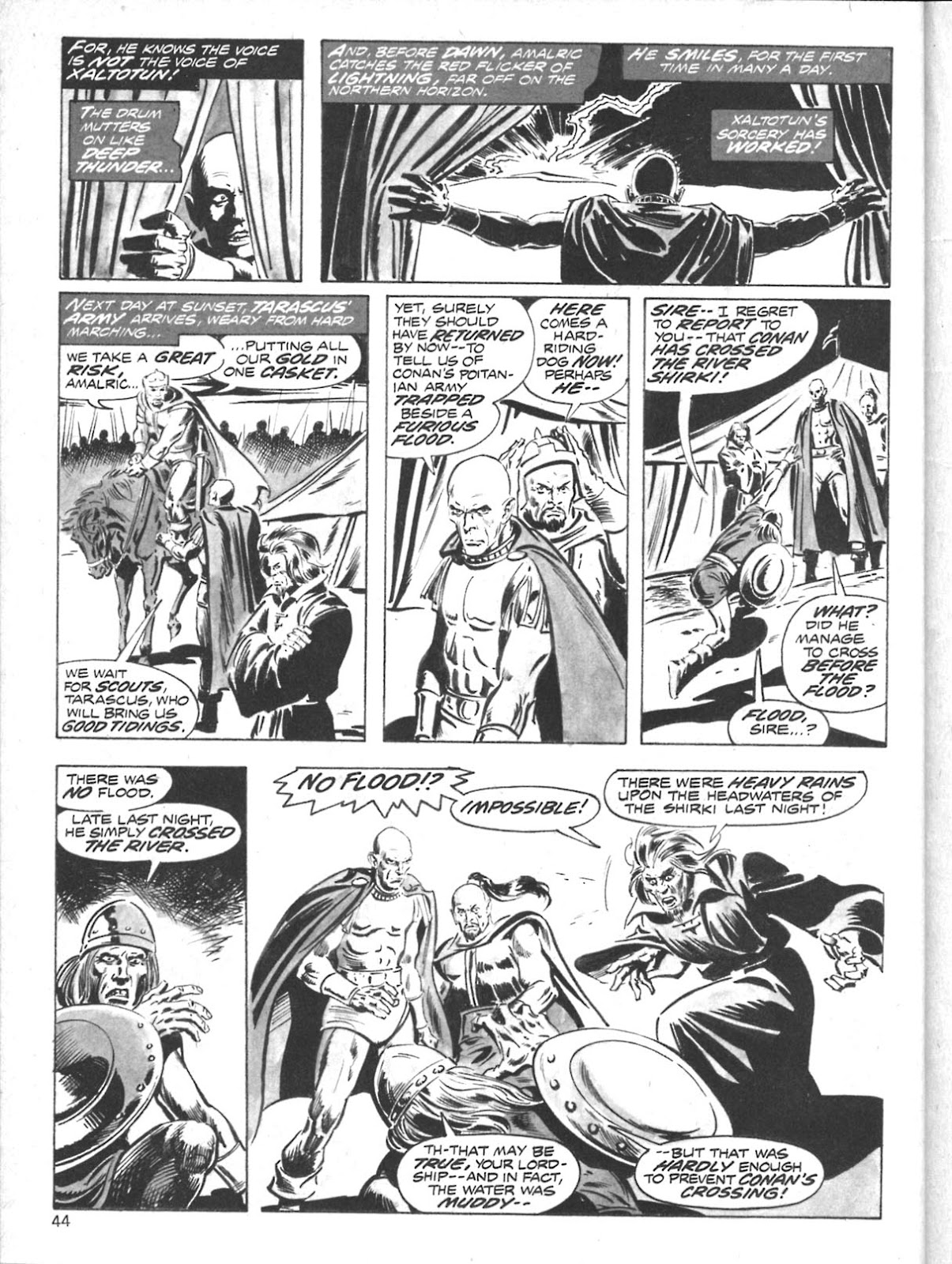 The Savage Sword Of Conan Issue #10 #11 - English 35