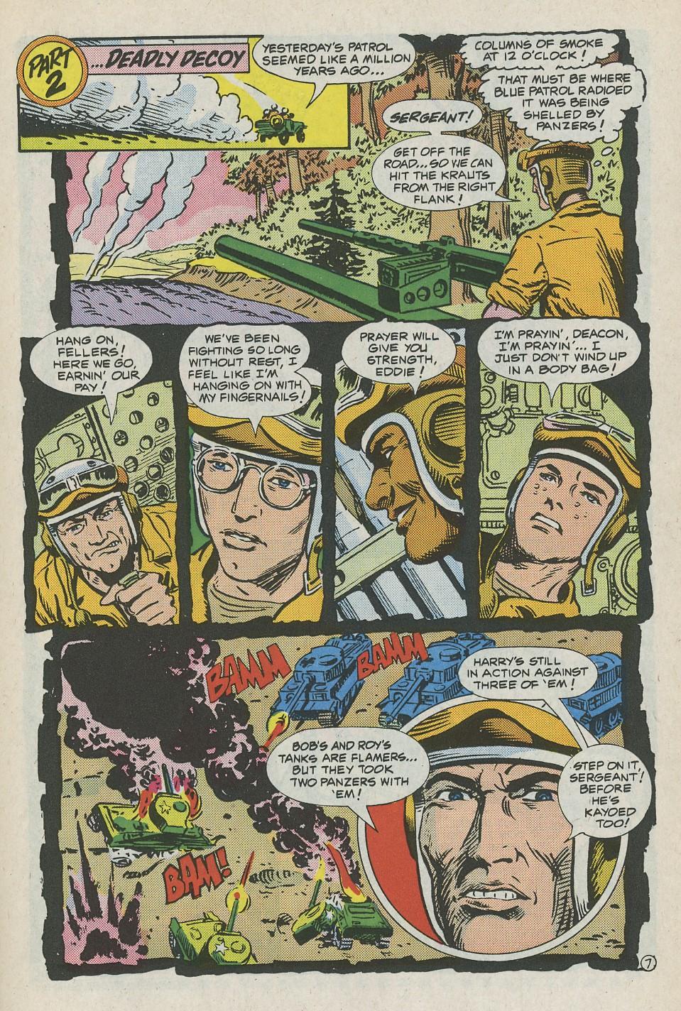 G.I. Combat (1952) Issue #288 #288 - English 10