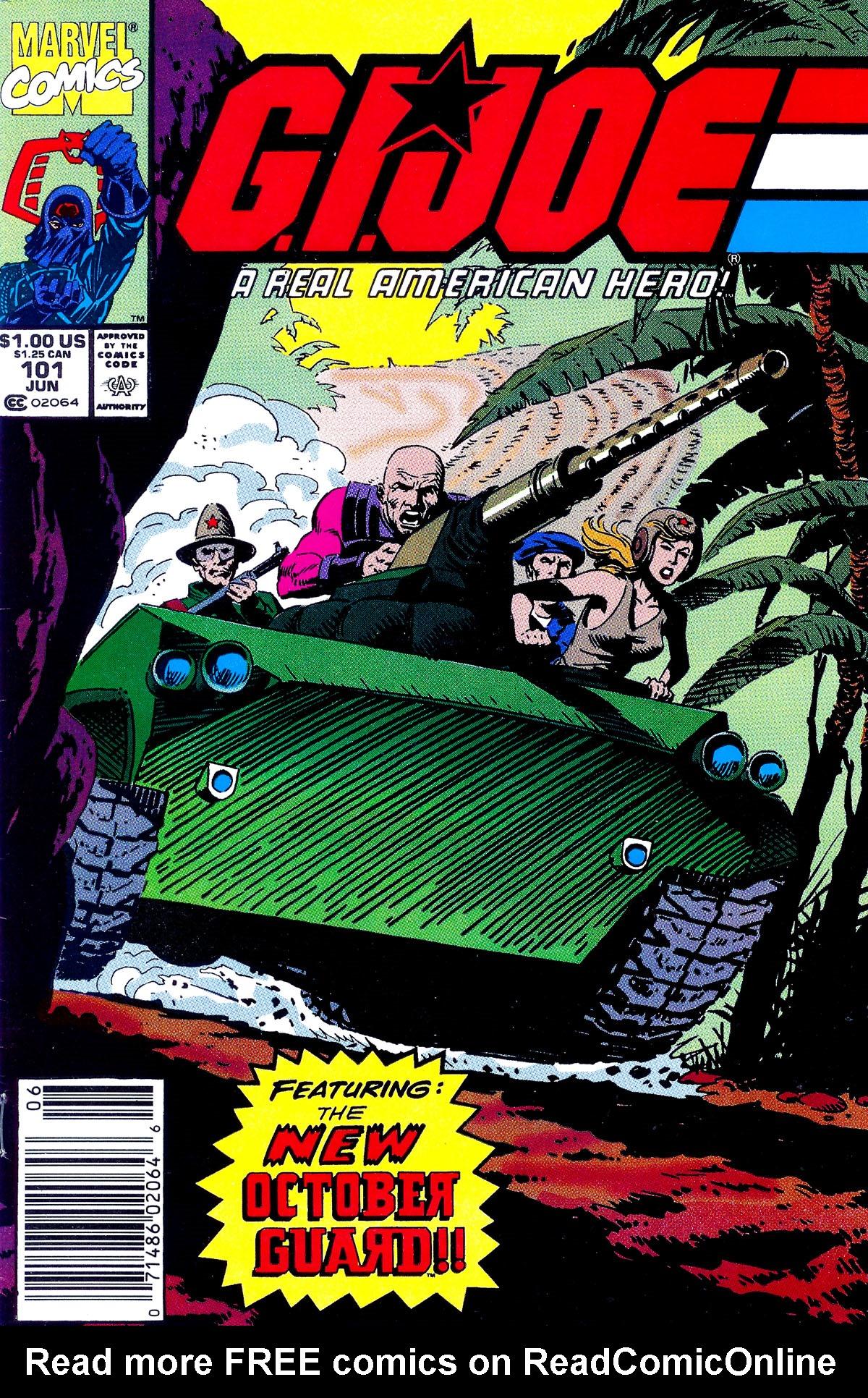 G.I. Joe: A Real American Hero 101 Page 1