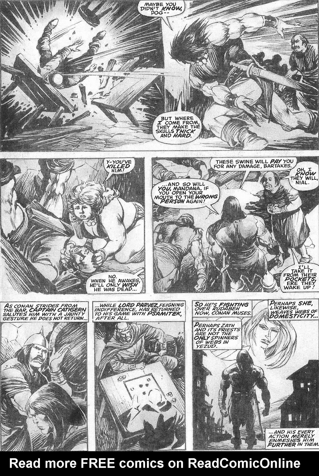 The Savage Sword Of Conan Issue #209 #210 - English 21