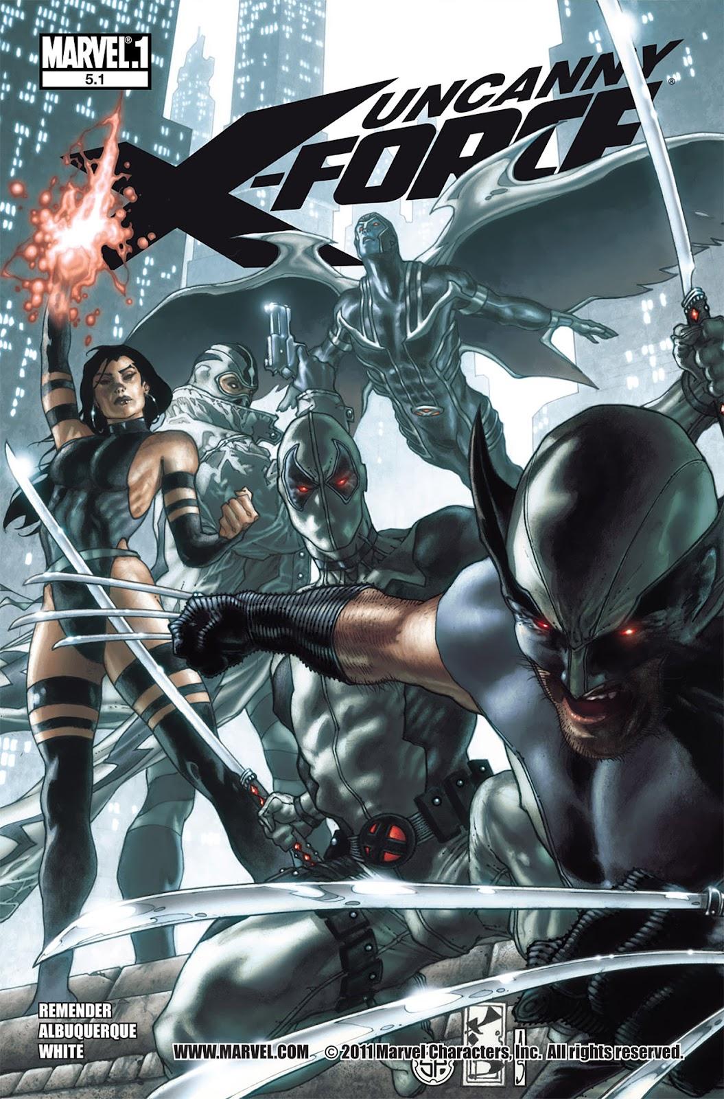 Uncanny X-Force (2010) Issue #5.1 #6 - English 1