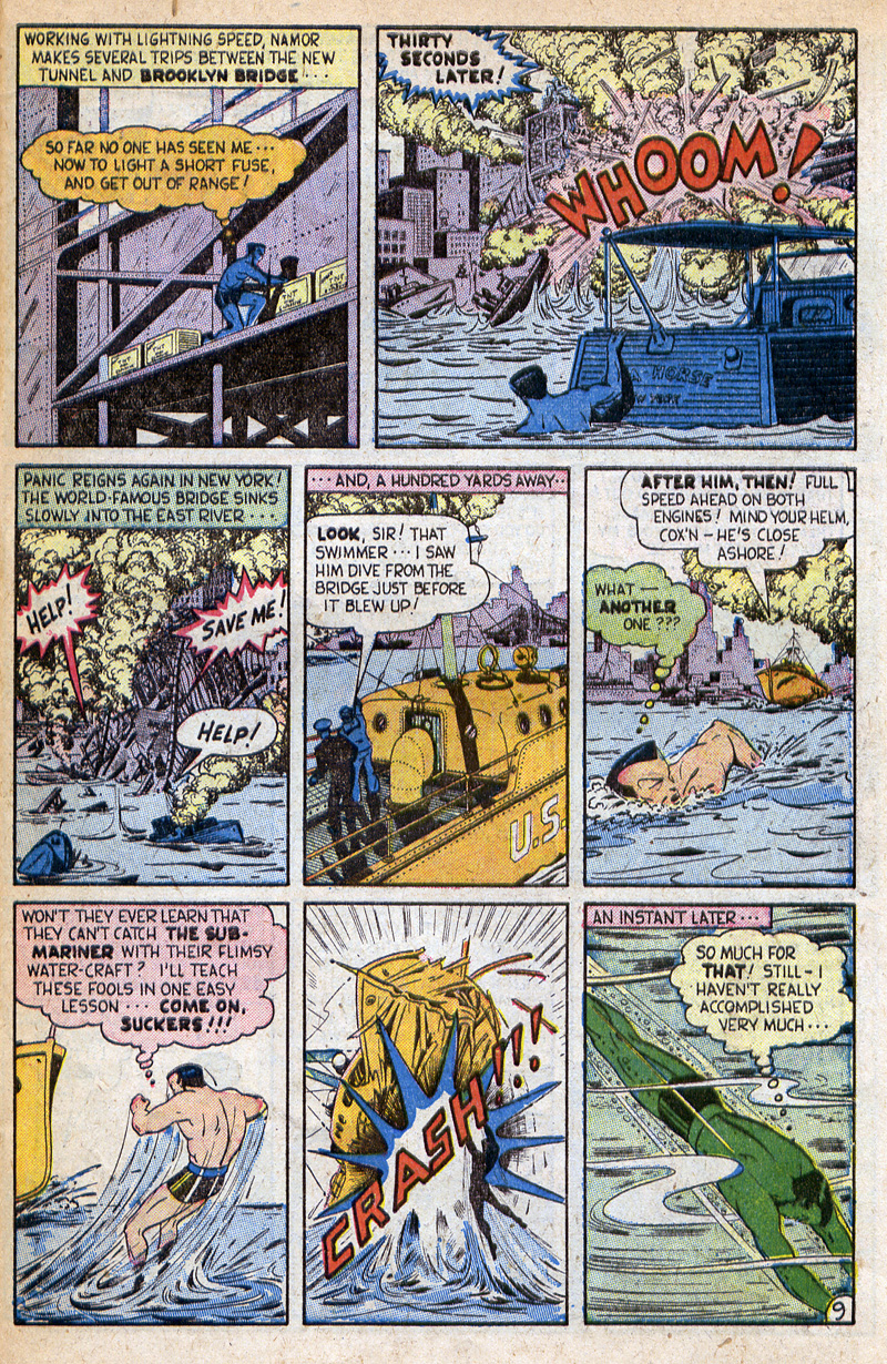 Sub-Mariner Comics #32 #32 - English 29