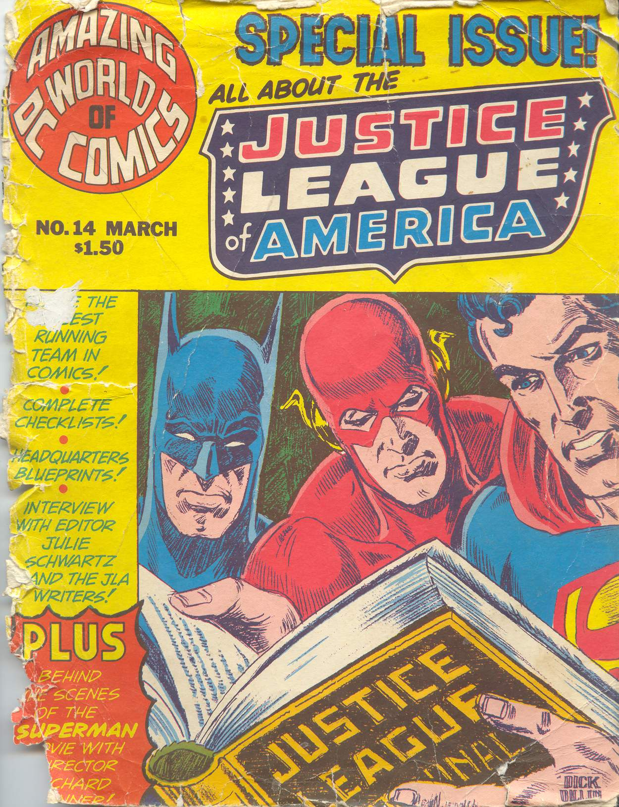 Read online Amazing World of DC Comics comic -  Issue #14 - 1