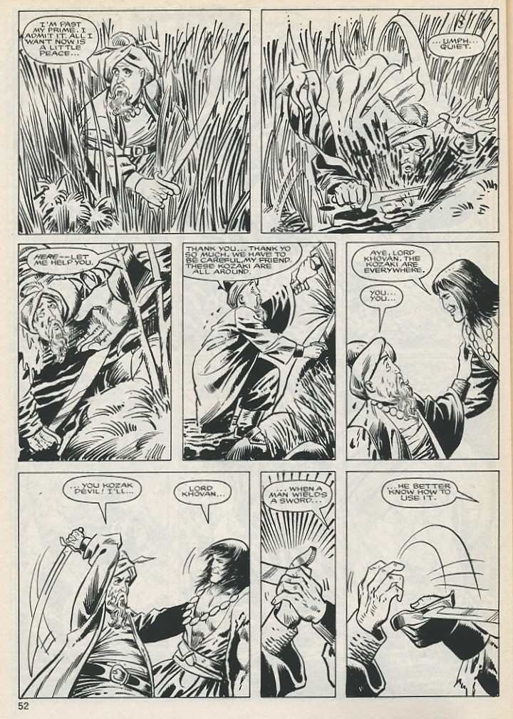 The Savage Sword Of Conan Issue #131 #132 - English 52