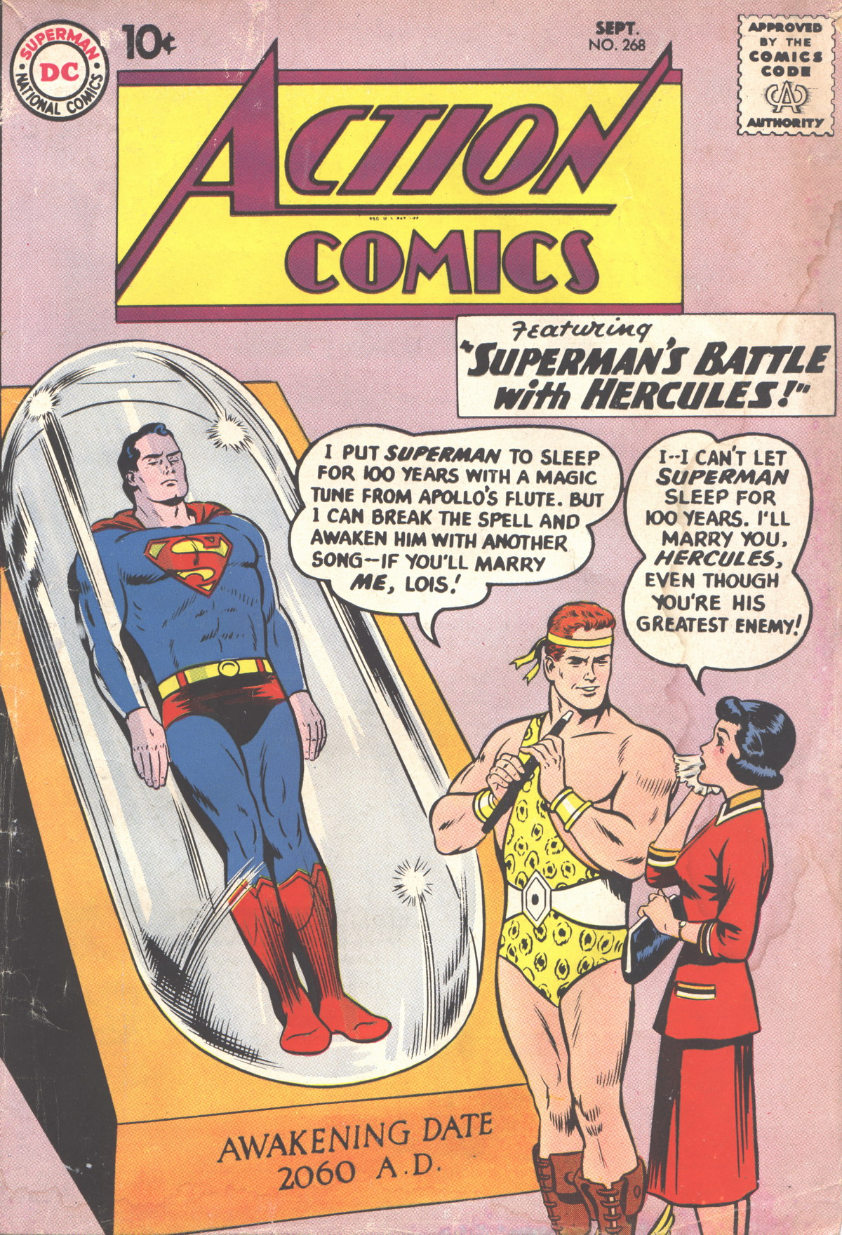Action Comics (1938) 268 Page 1