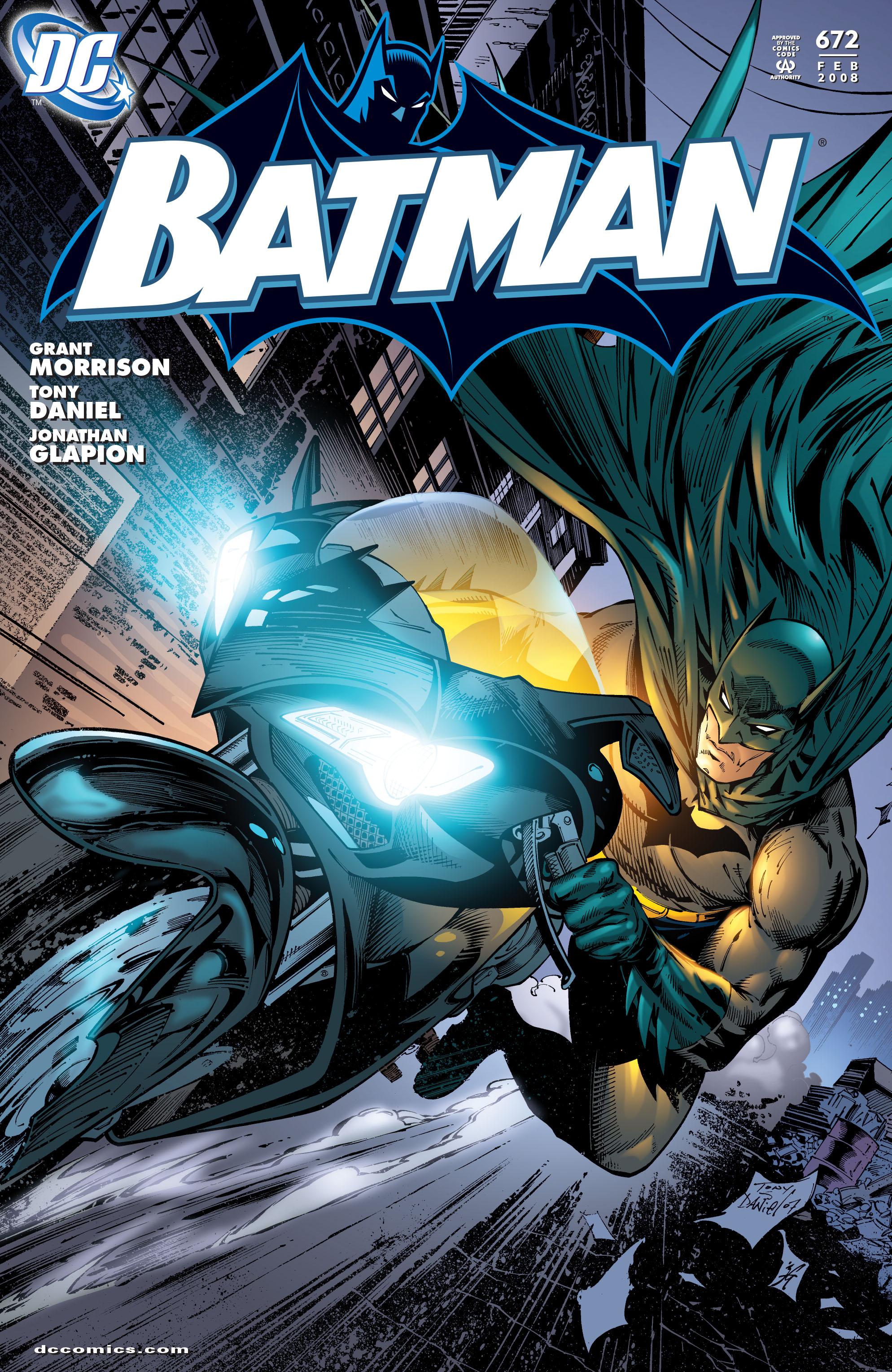 Batman (1940) 672 Page 1