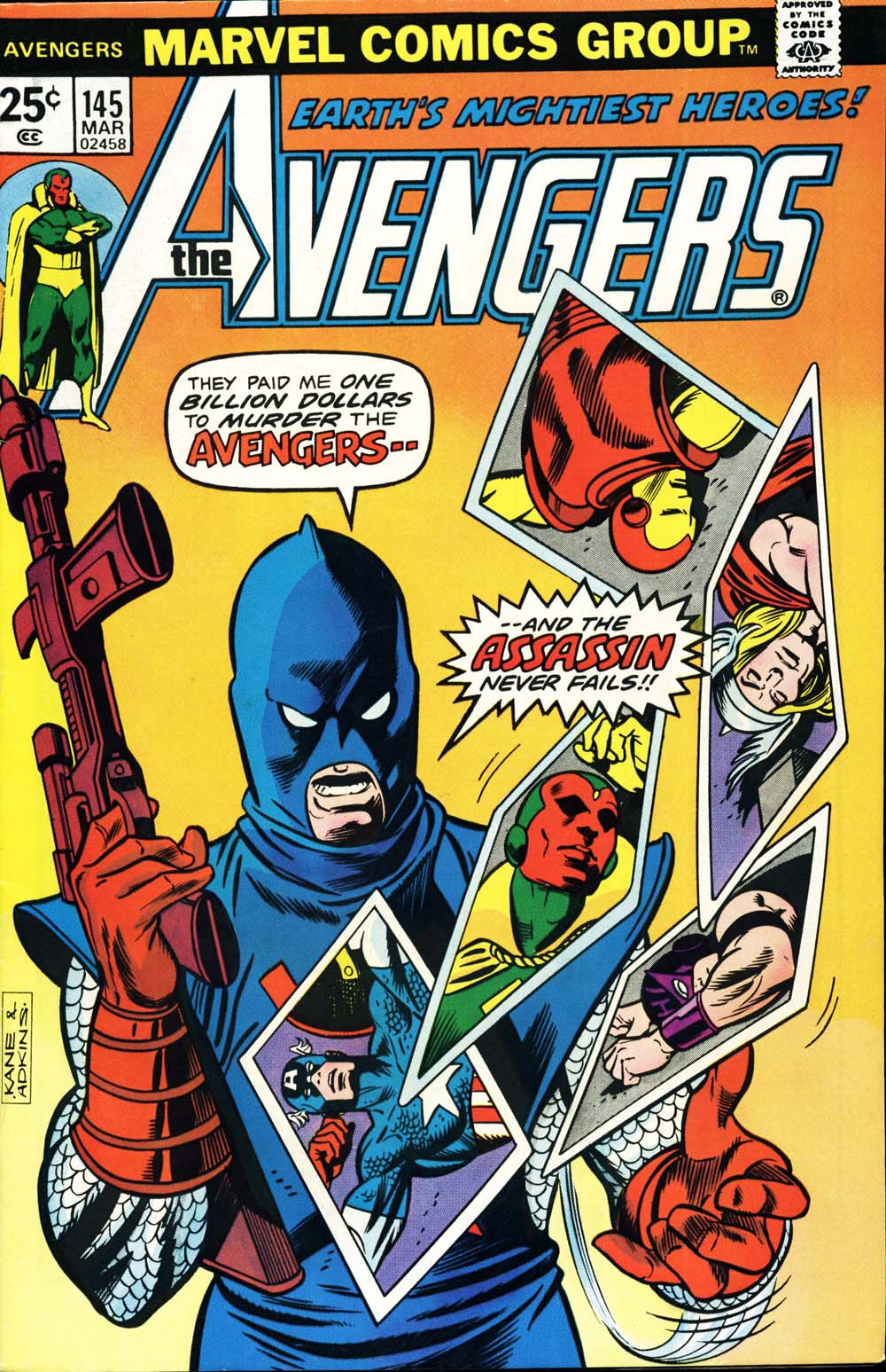 The Avengers (1963) 145 Page 1