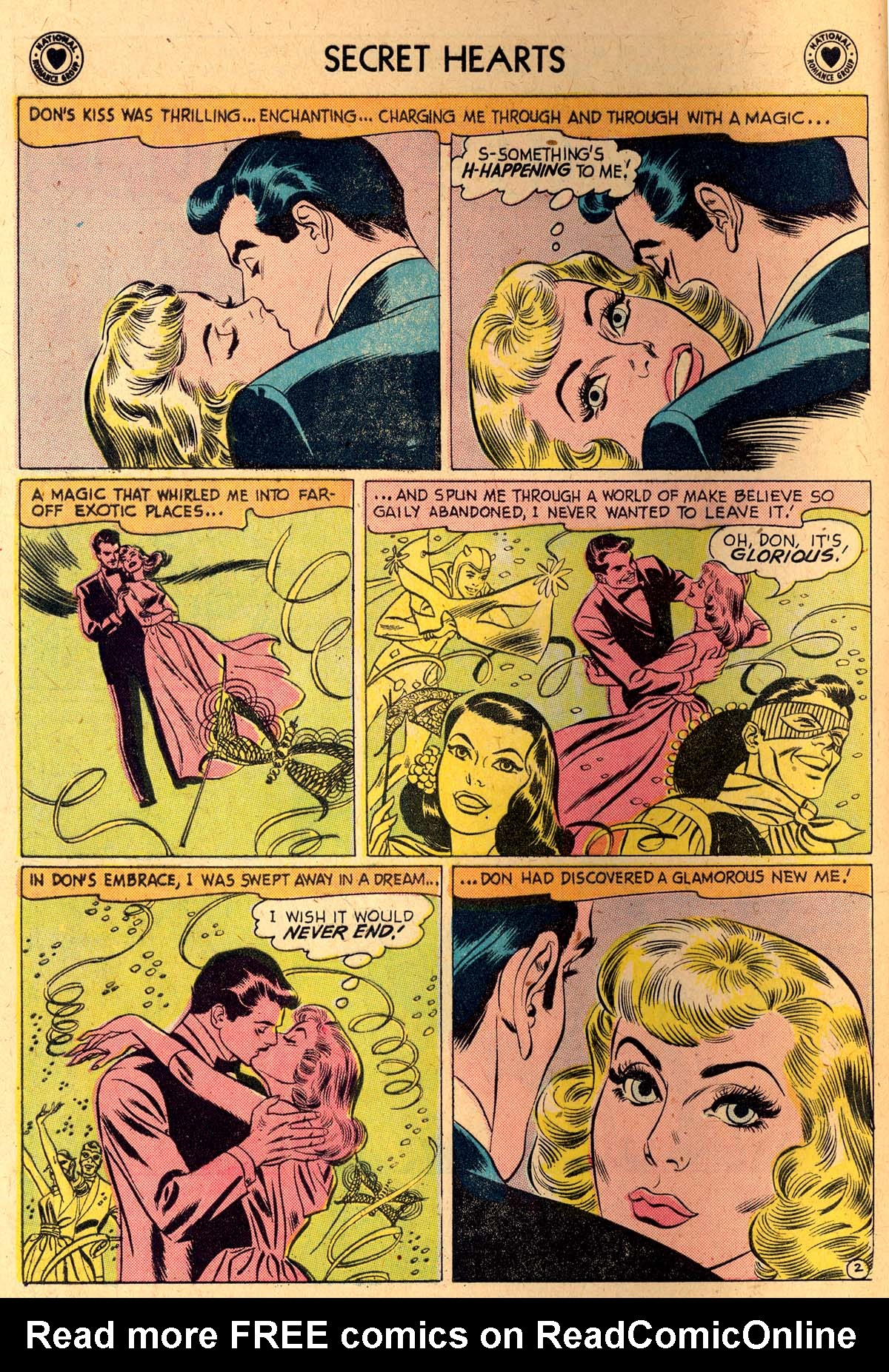 Read online Secret Hearts comic -  Issue #52 - 4