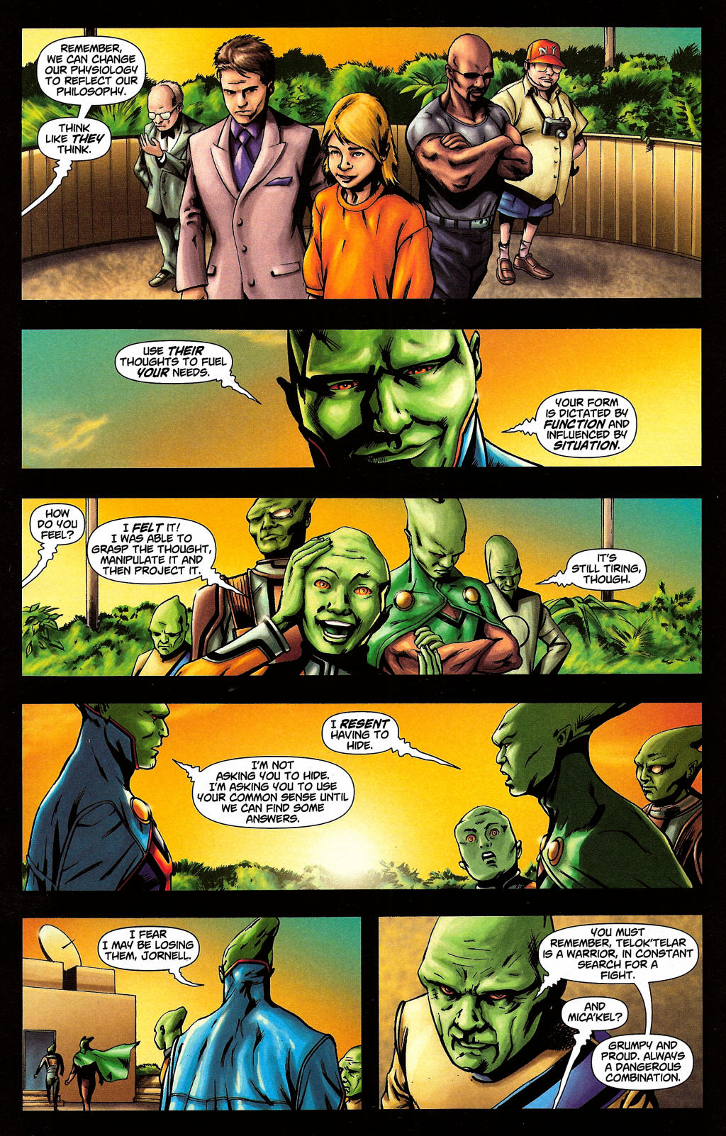Read online Martian Manhunter (2006) comic -  Issue #4 - 16