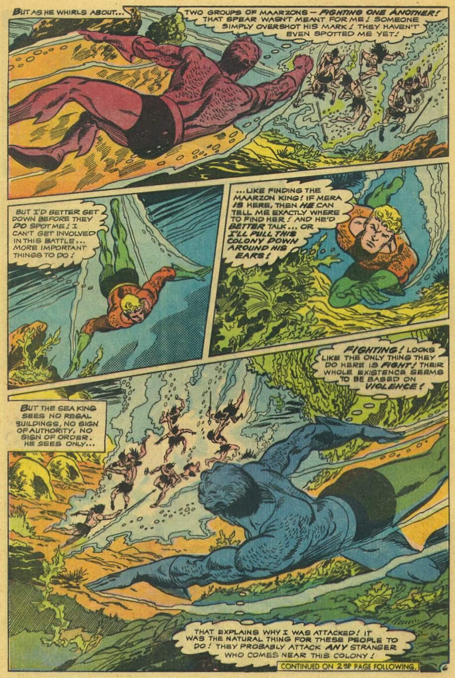 Aquaman (1962) Issue #42 #42 - English 8