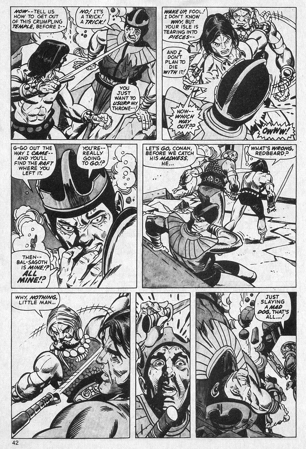 The Savage Sword Of Conan Issue #13 #14 - English 42