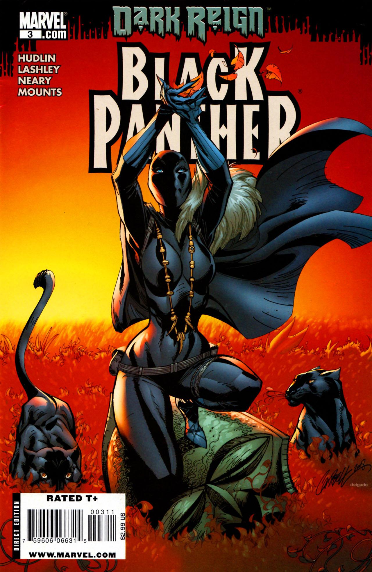 Black Panther (2009) 3 Page 1