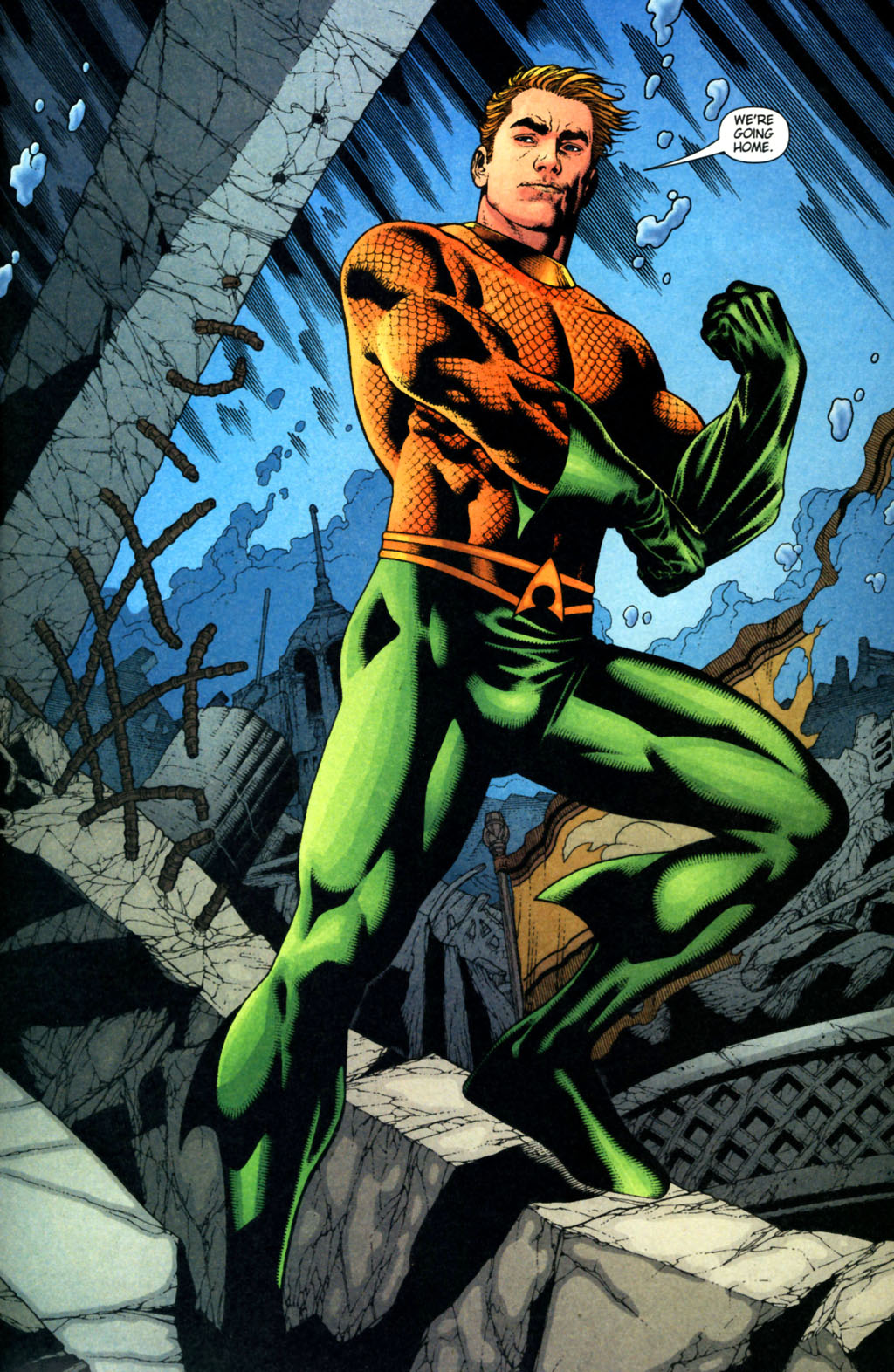 Read online Aquaman (2003) comic -  Issue #38 - 23