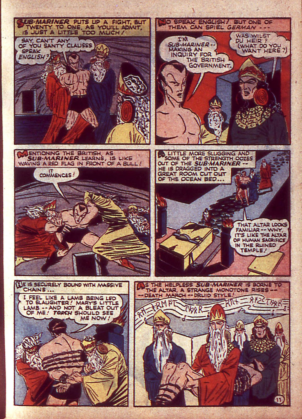 Sub-Mariner Comics Issue #3 #3 - English 14