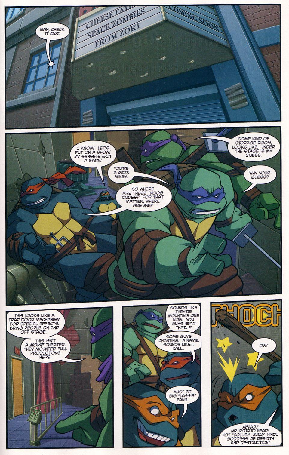 Teenage Mutant Ninja Turtles (2003) chap 7 pic 15