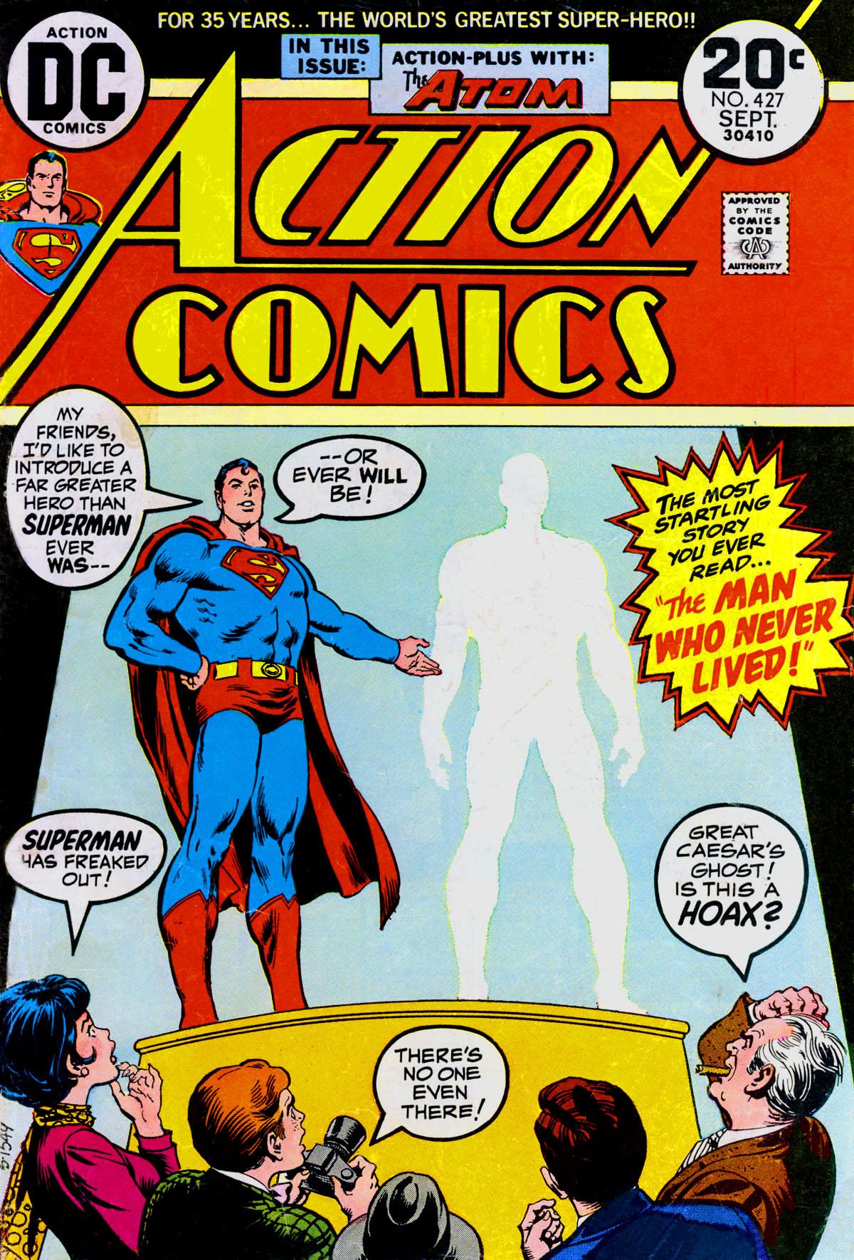 Action Comics (1938) 427 Page 1