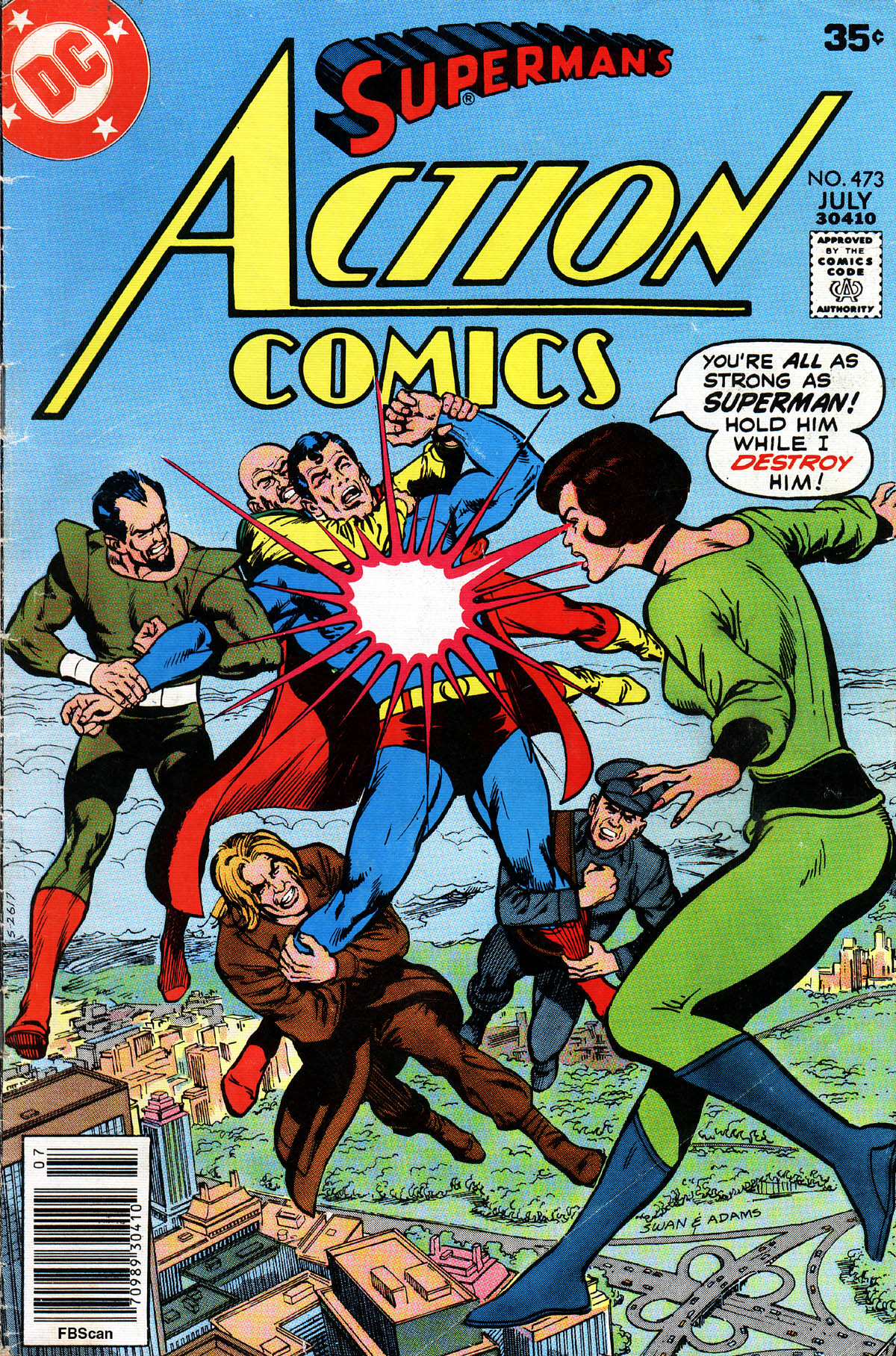 Action Comics (1938) 473 Page 1