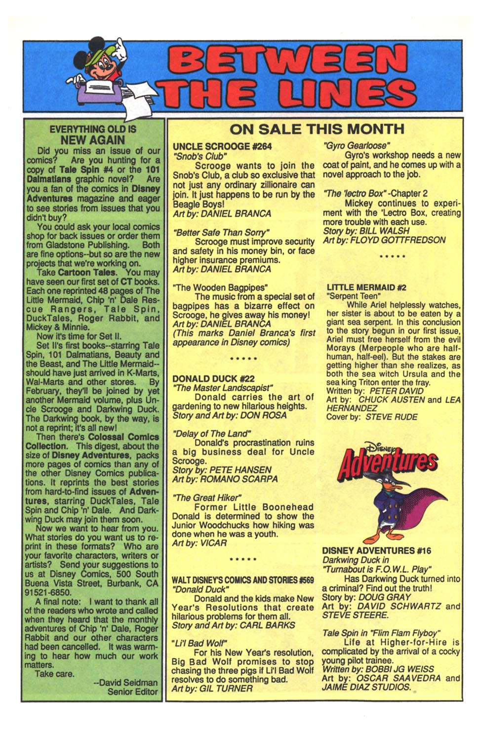 Uncle Scrooge (1953) Issue #264 #264 - English 8