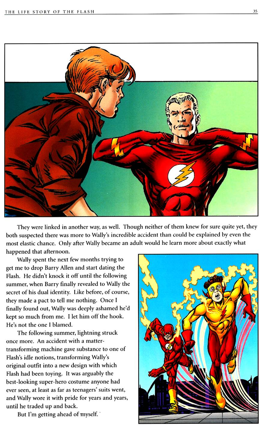 Read online The Life Story of the Flash comic -  Issue # Full - 37