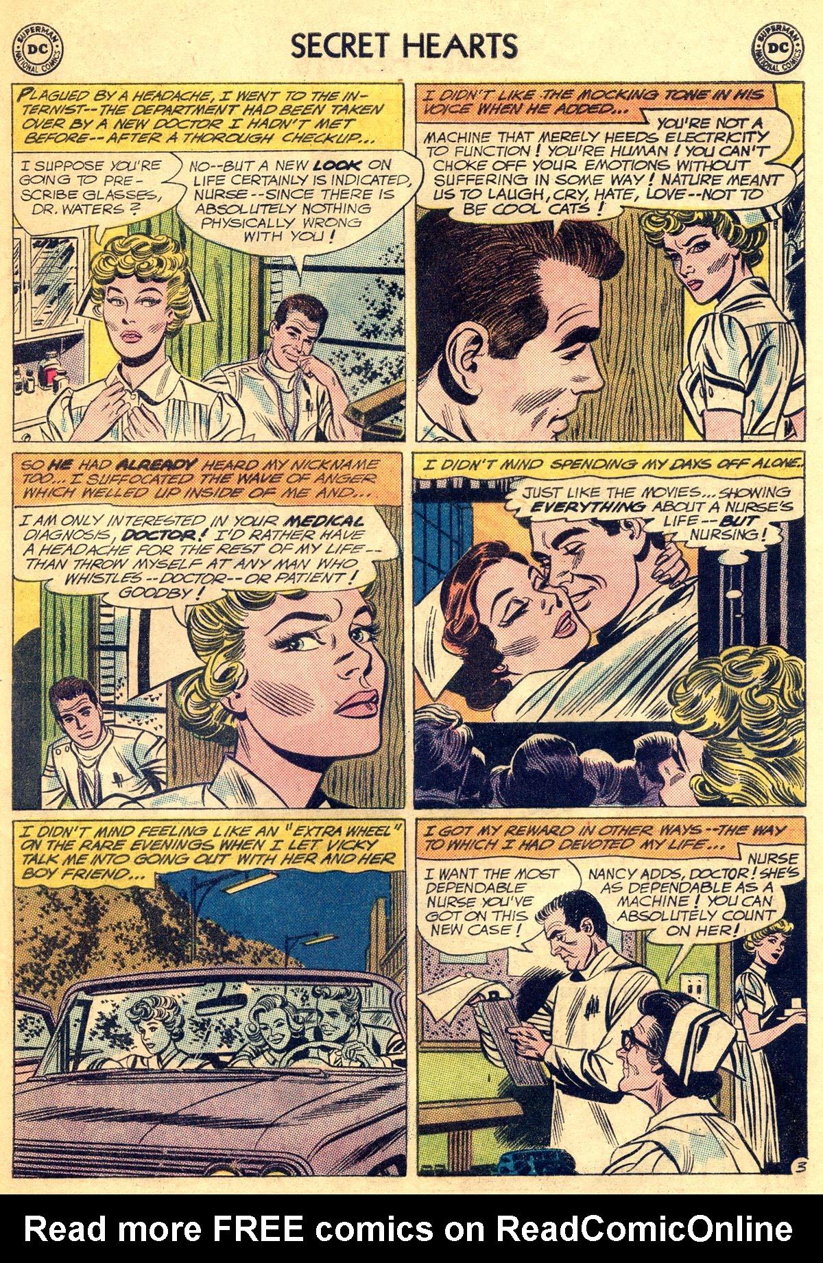 Read online Secret Hearts comic -  Issue #81 - 29