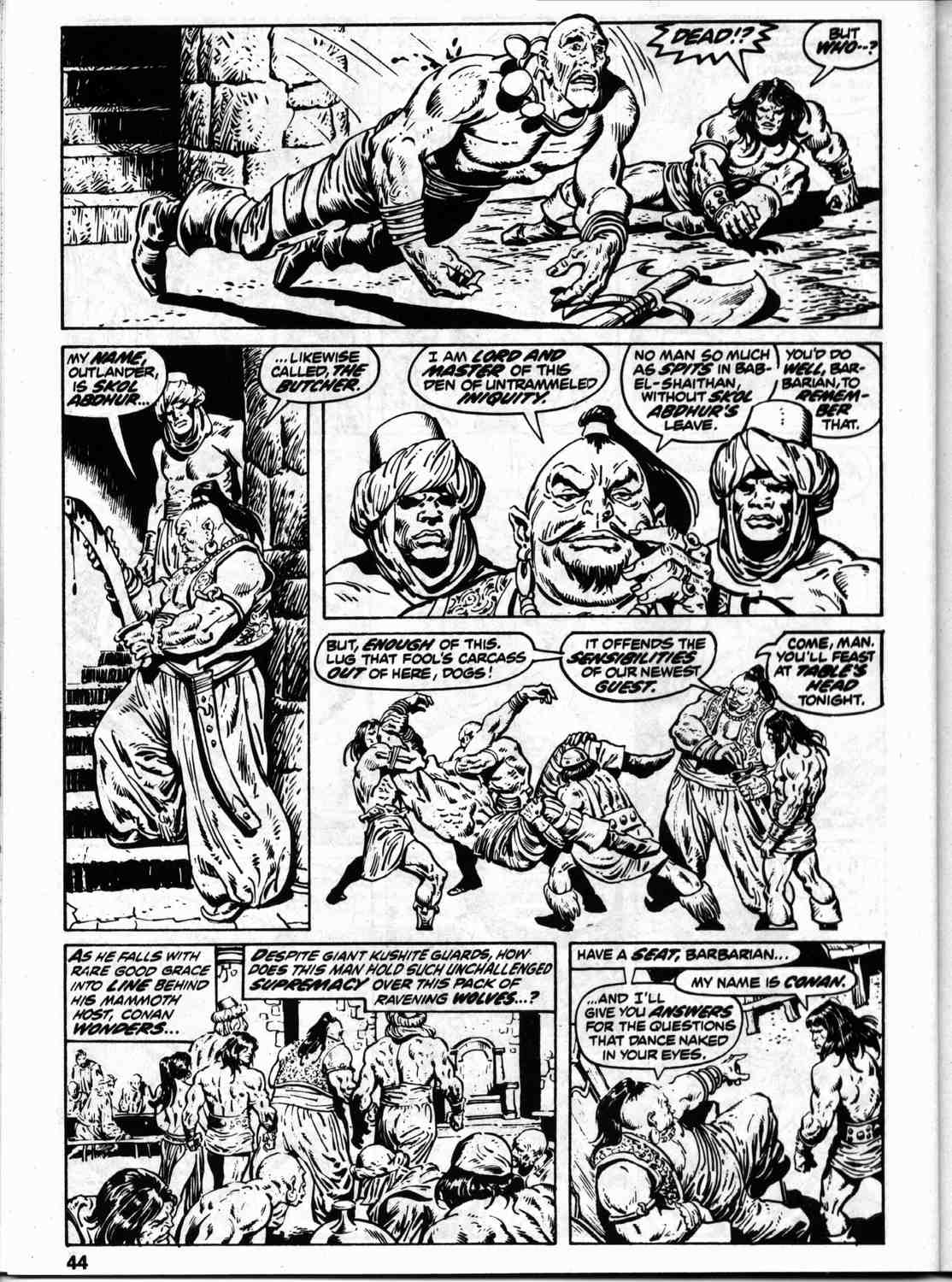 The Savage Sword Of Conan Issue #59 #60 - English 51