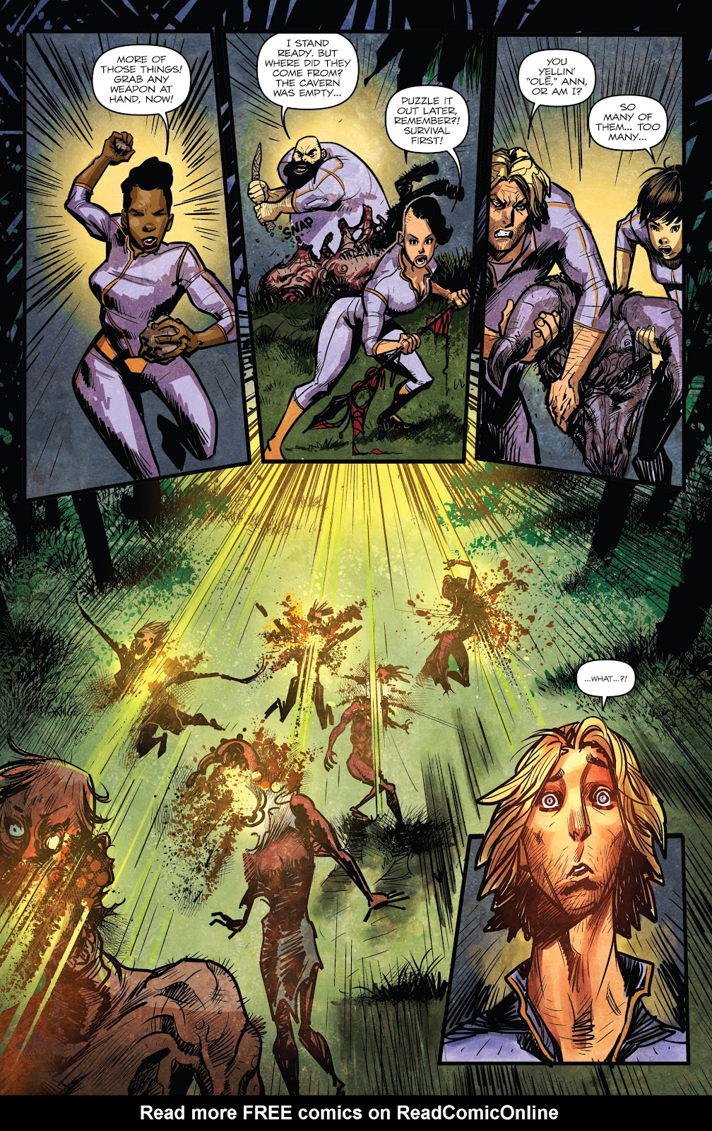 Zombies vs Robots (2015) Issue #5 Page 12