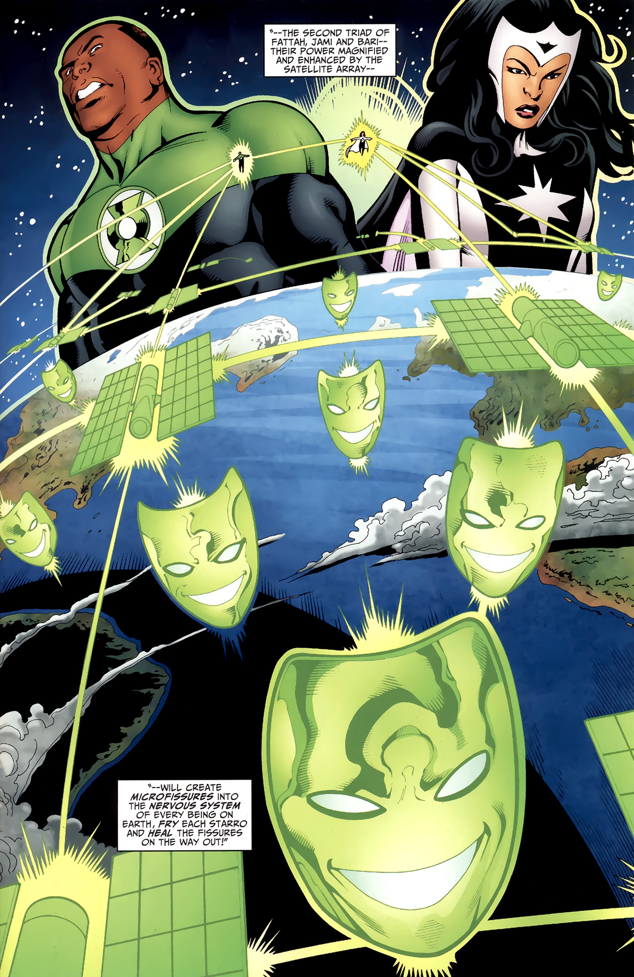 Read online Justice League of America/The 99 comic -  Issue #6 - 17