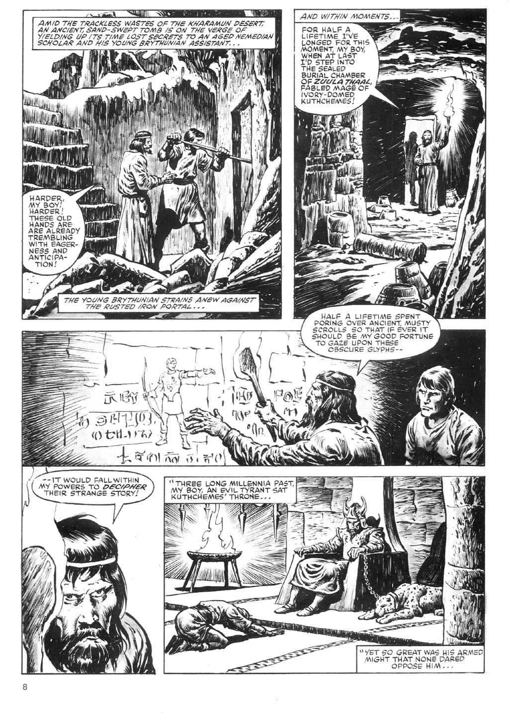 The Savage Sword Of Conan Issue #87 #88 - English 8