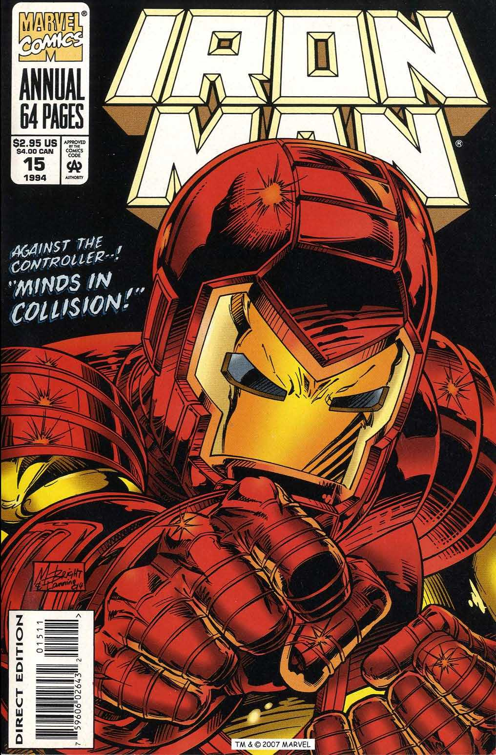 Iron Man Annual 15 Page 1