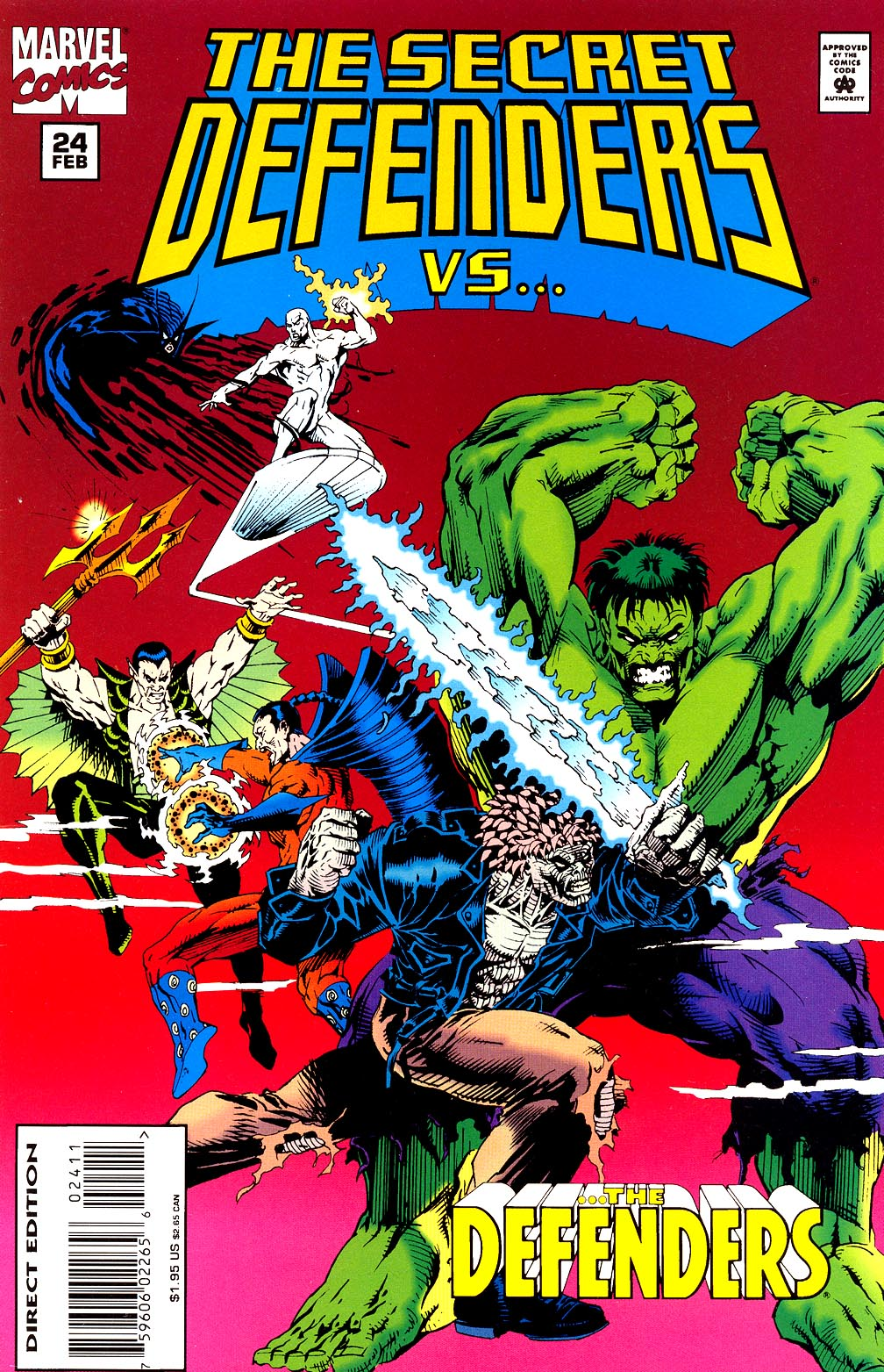 Read online Secret Defenders comic -  Issue #24 - 1