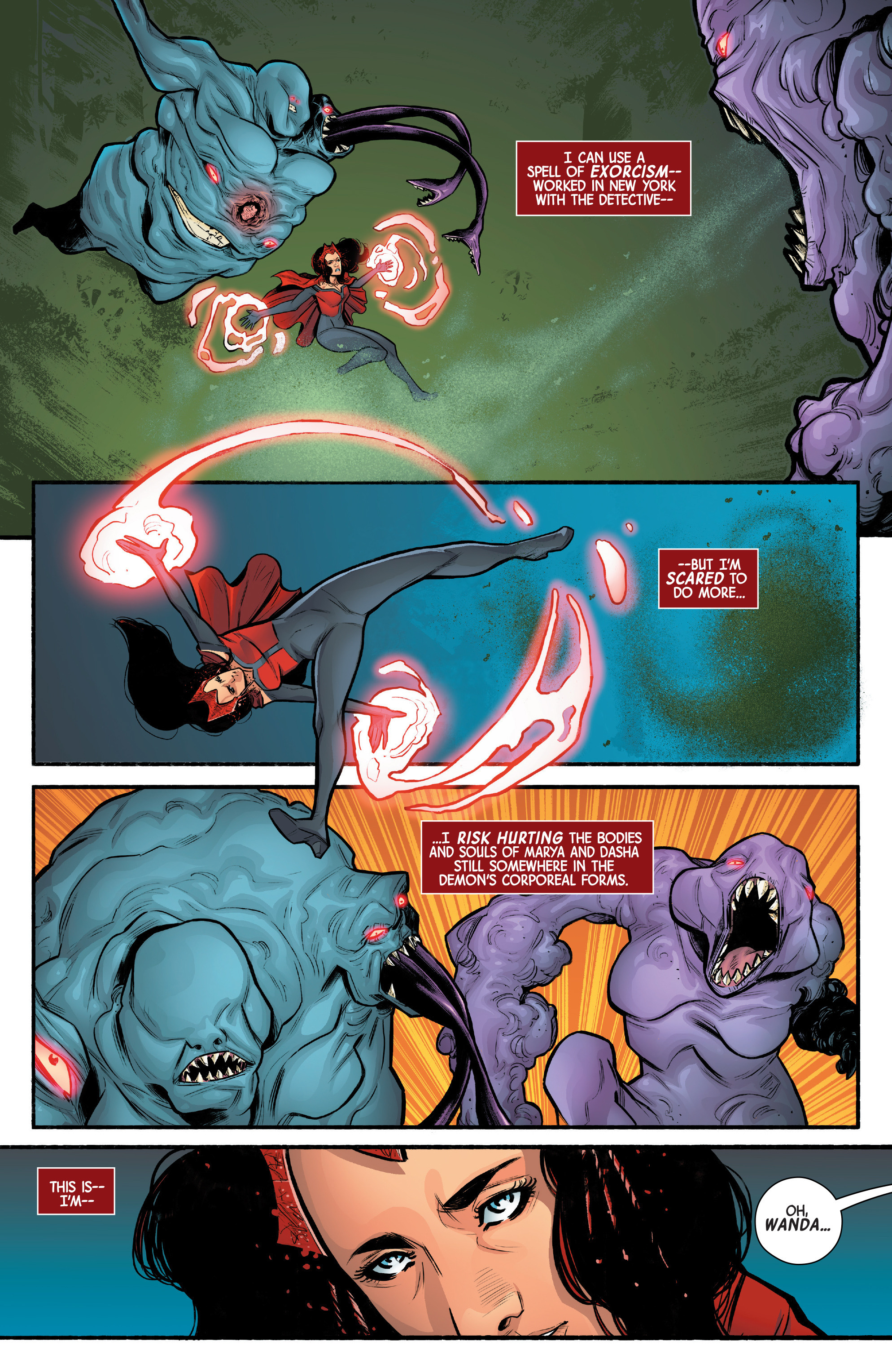Read online Scarlet Witch (2016) comic -  Issue #12 - 15