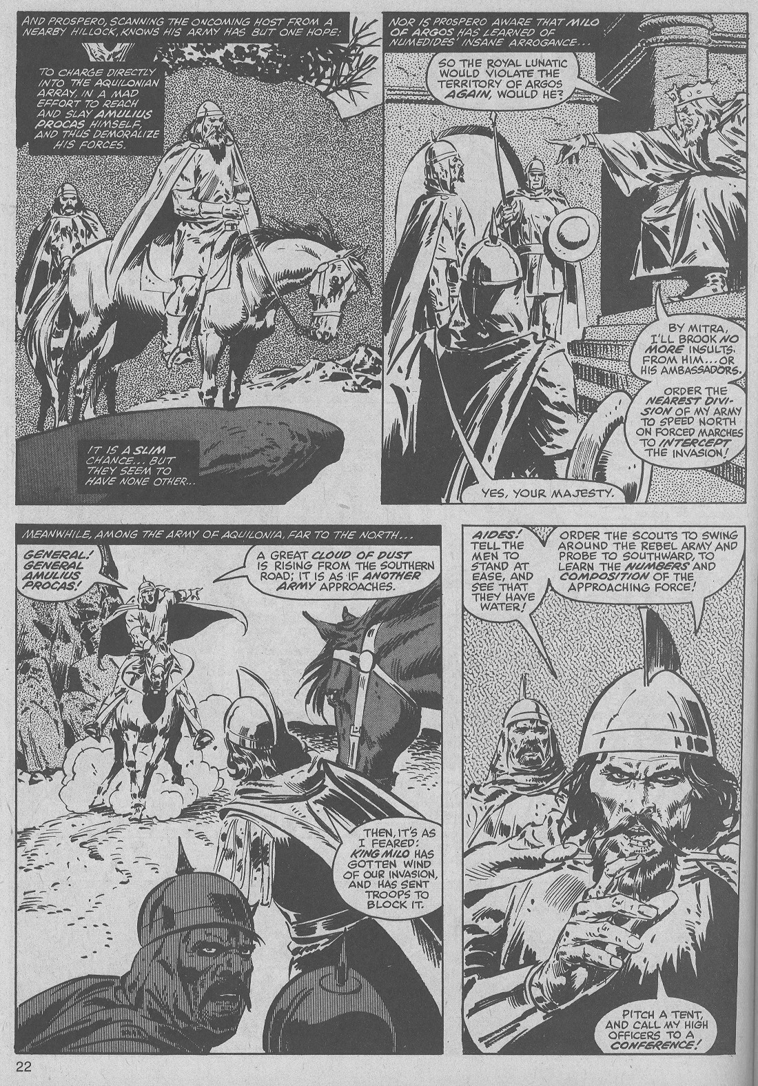 The Savage Sword Of Conan Issue #50 #51 - English 22