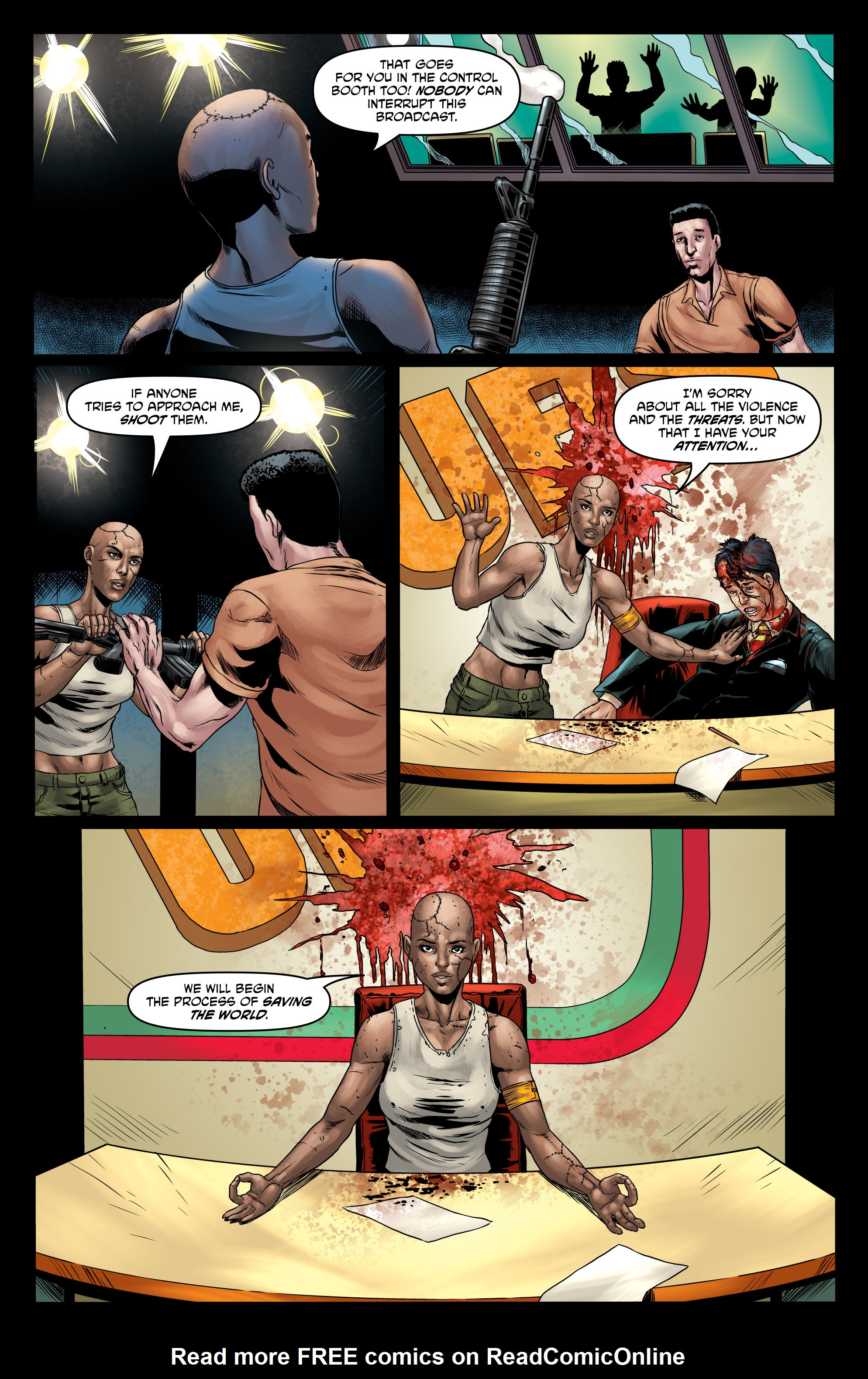 Read online God Is Dead comic -  Issue #47 - 14